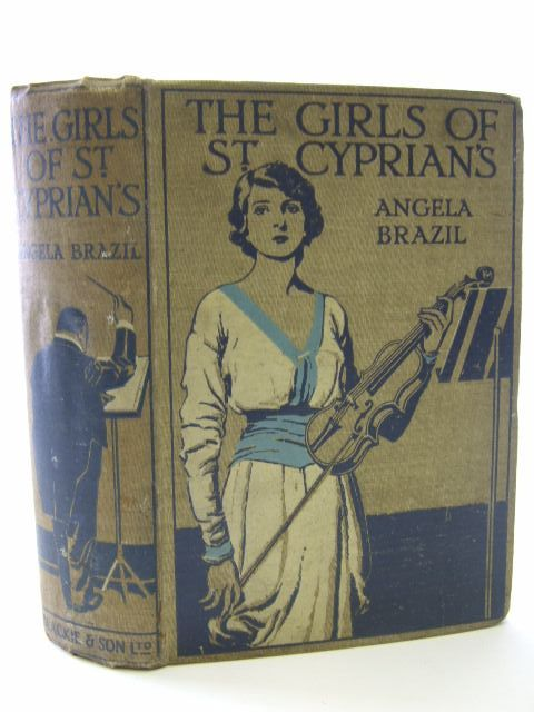 Photo of THE GIRLS OF ST. CYPRIAN'S written by Brazil, Angela illustrated by Davis, Stanley published by Blackie & Son Ltd. (STOCK CODE: 1704924)  for sale by Stella & Rose's Books