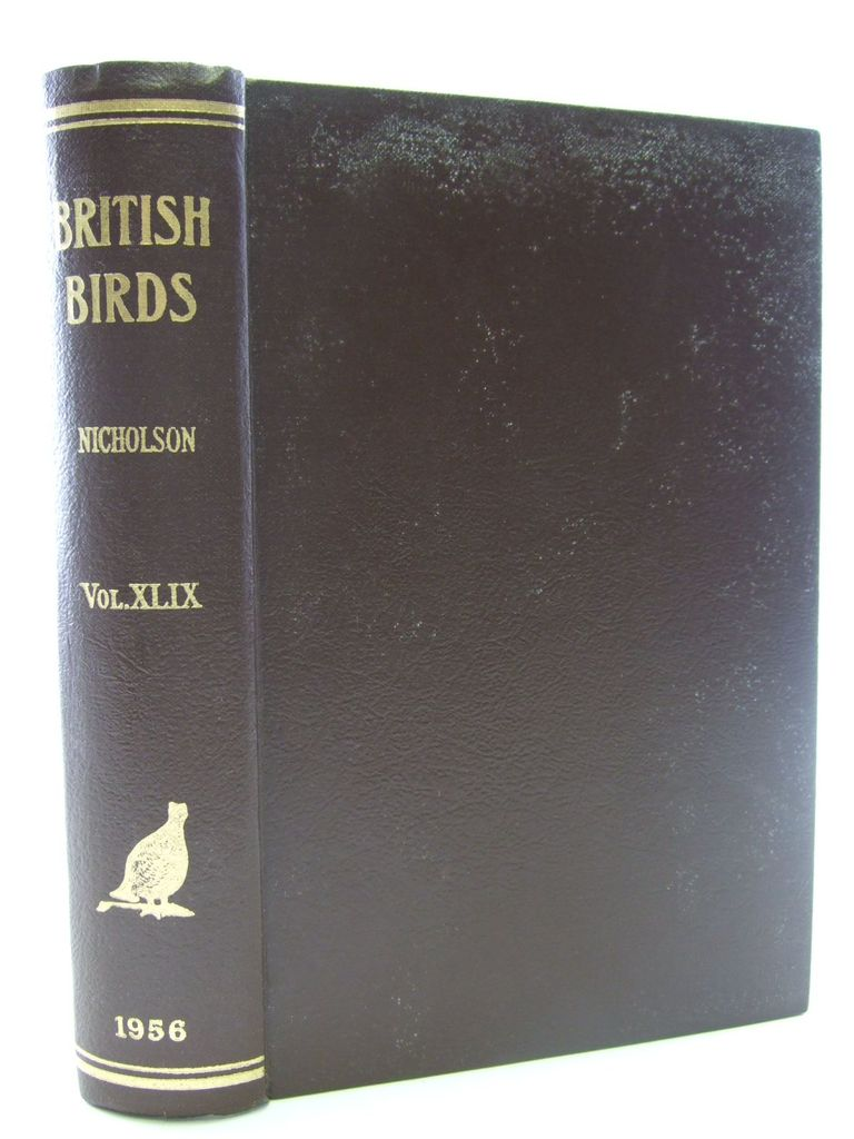 Photo of BRITISH BIRDS VOL. XLIX written by Nicholson, E.M. published by H.F. & G. Witherby Ltd. (STOCK CODE: 1705261)  for sale by Stella & Rose's Books