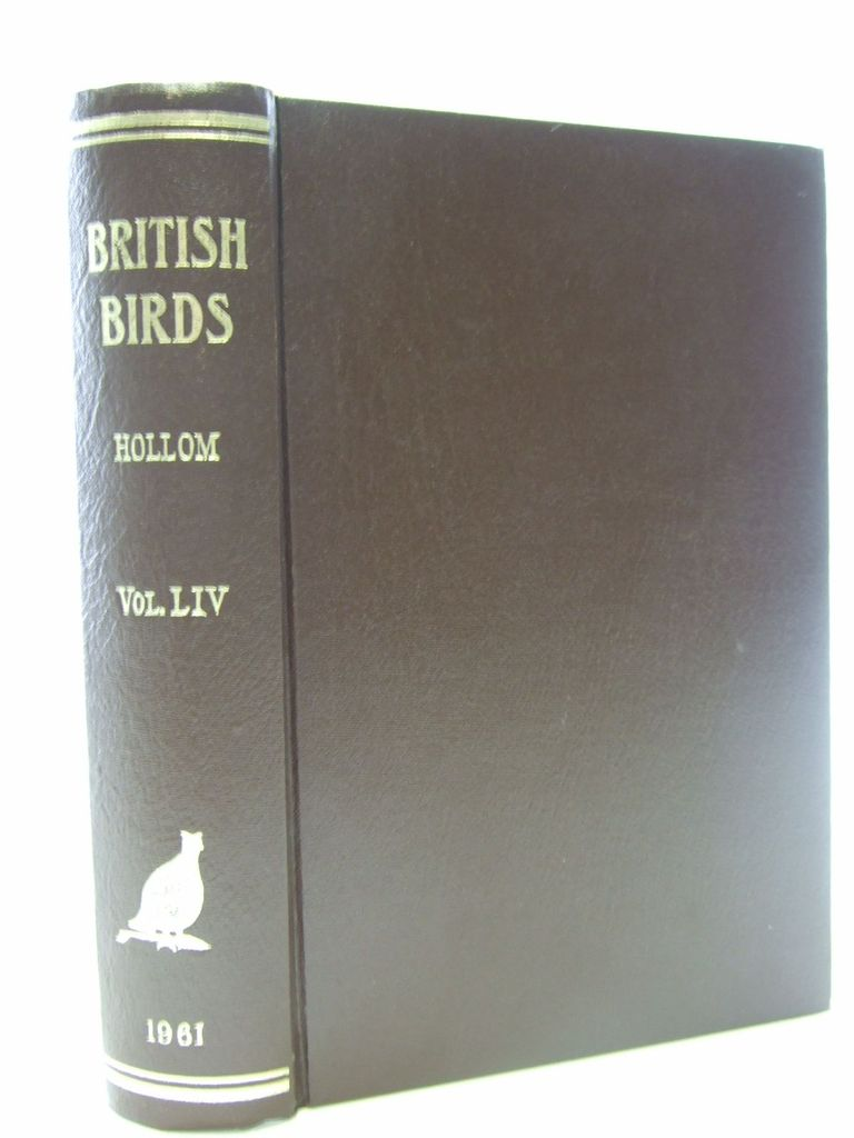 Photo of BRITISH BIRDS VOL. LIV written by Hollom, P.A.D. published by H.F. & G. Witherby Ltd. (STOCK CODE: 1705291)  for sale by Stella & Rose's Books