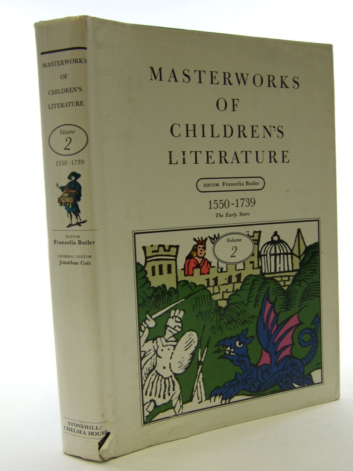 Photo of MASTERWORKS OF CHILDREN'S LITERATURE VOLUME 2 1550-1739 THE EARLY YEARS- Stock Number: 1705874