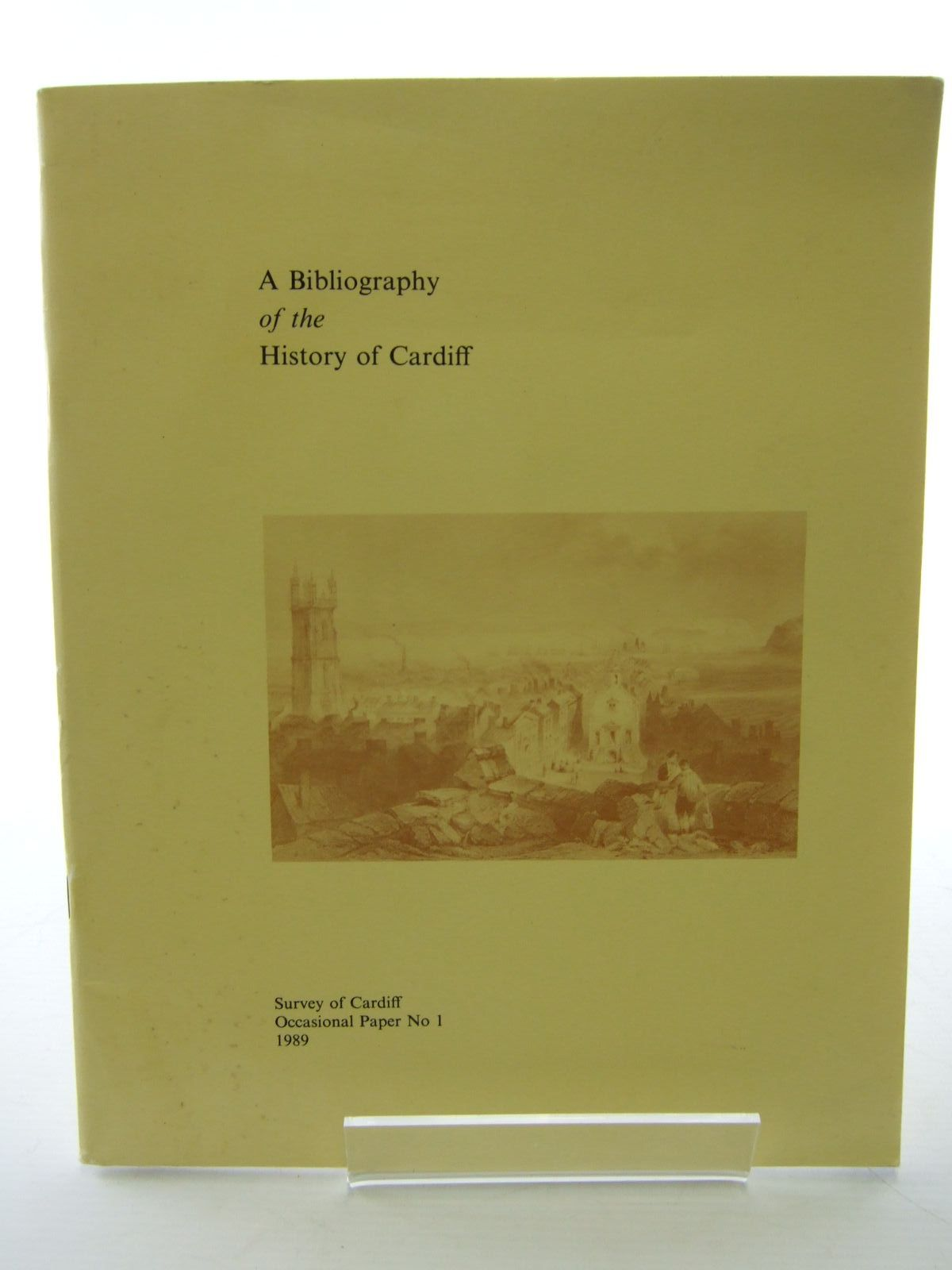 Photo of A BIBLIOGRAPHY OF THE HISTORY OF CARDIFF written by James, Brian Ll.<br />Romaya, S.M. published by Survey Of Cardiff (STOCK CODE: 1705876)  for sale by Stella & Rose's Books