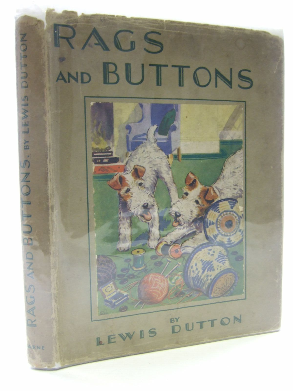 Photo of RAGS AND BUTTONS written by Dutton, Lewis illustrated by Norfield, Edgar published by Frederick Warne & Co Ltd. (STOCK CODE: 1705881)  for sale by Stella & Rose's Books