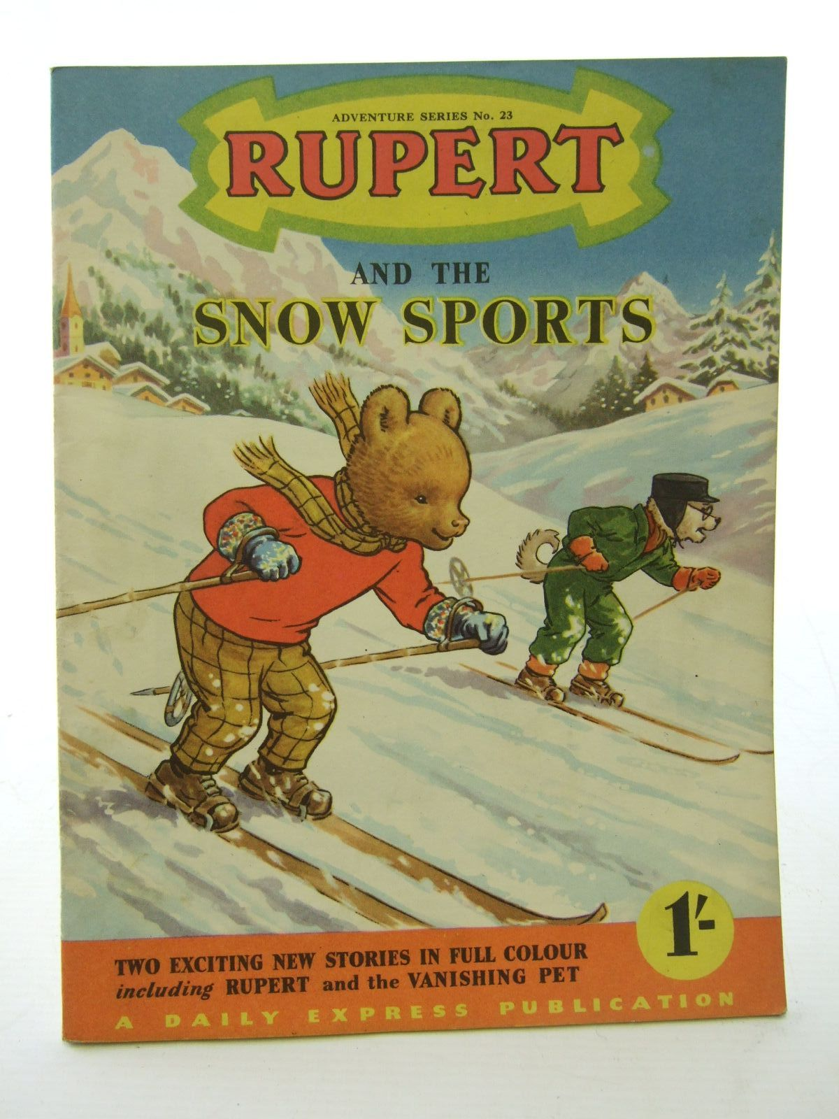 Photo of RUPERT ADVENTURE SERIES No. 23 - RUPERT AND THE SNOW SPORTS written by Bestall, Alfred published by Daily Express (STOCK CODE: 1706113)  for sale by Stella & Rose's Books