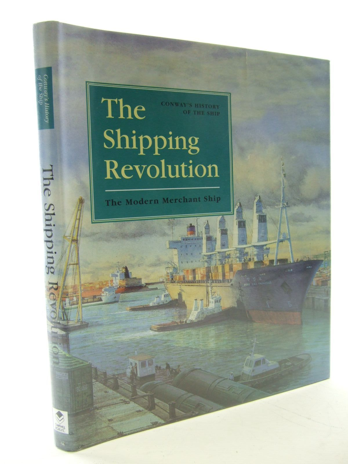 Photo of THE SHIPPING REVOLUTION THE MODERN MERCHANT SHIPS written by Gardiner, Robert