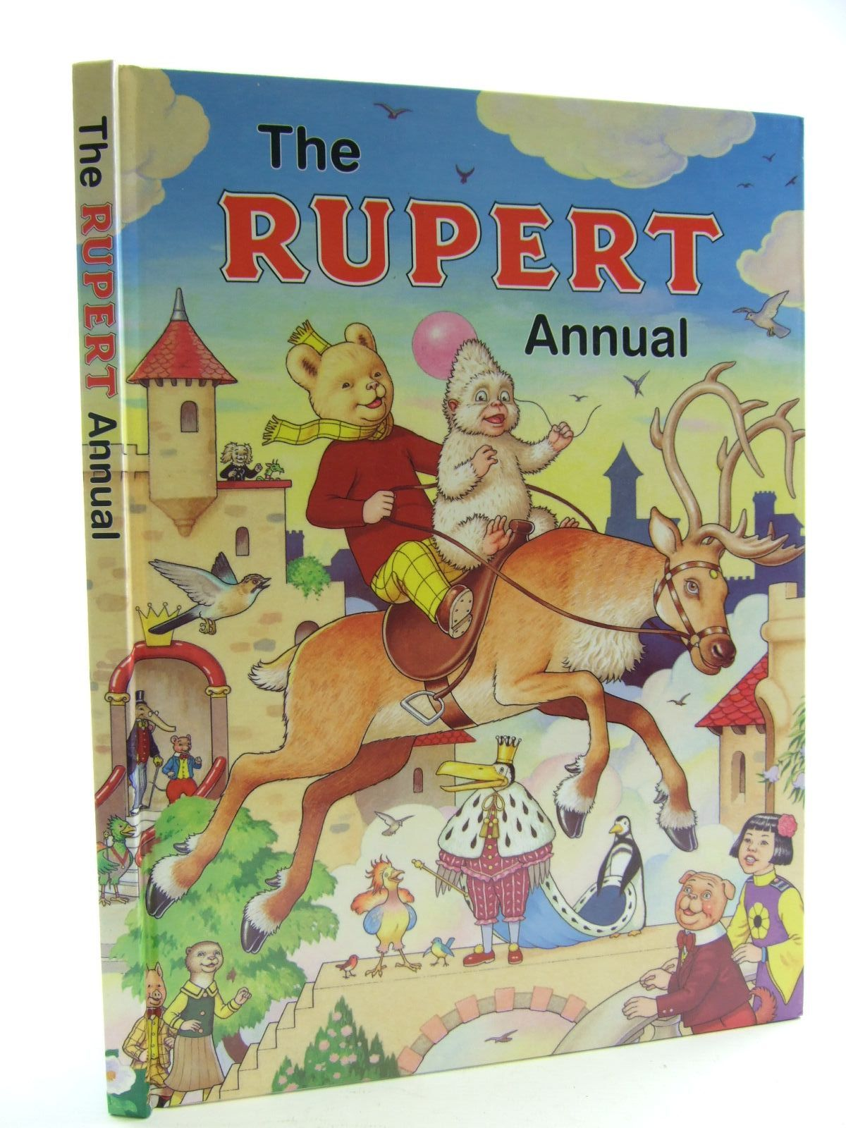 Photo of RUPERT ANNUAL 2006 written by Henderson, Jim illustrated by Harrold, John published by Express Newspapers Ltd. (STOCK CODE: 1706202)  for sale by Stella & Rose's Books