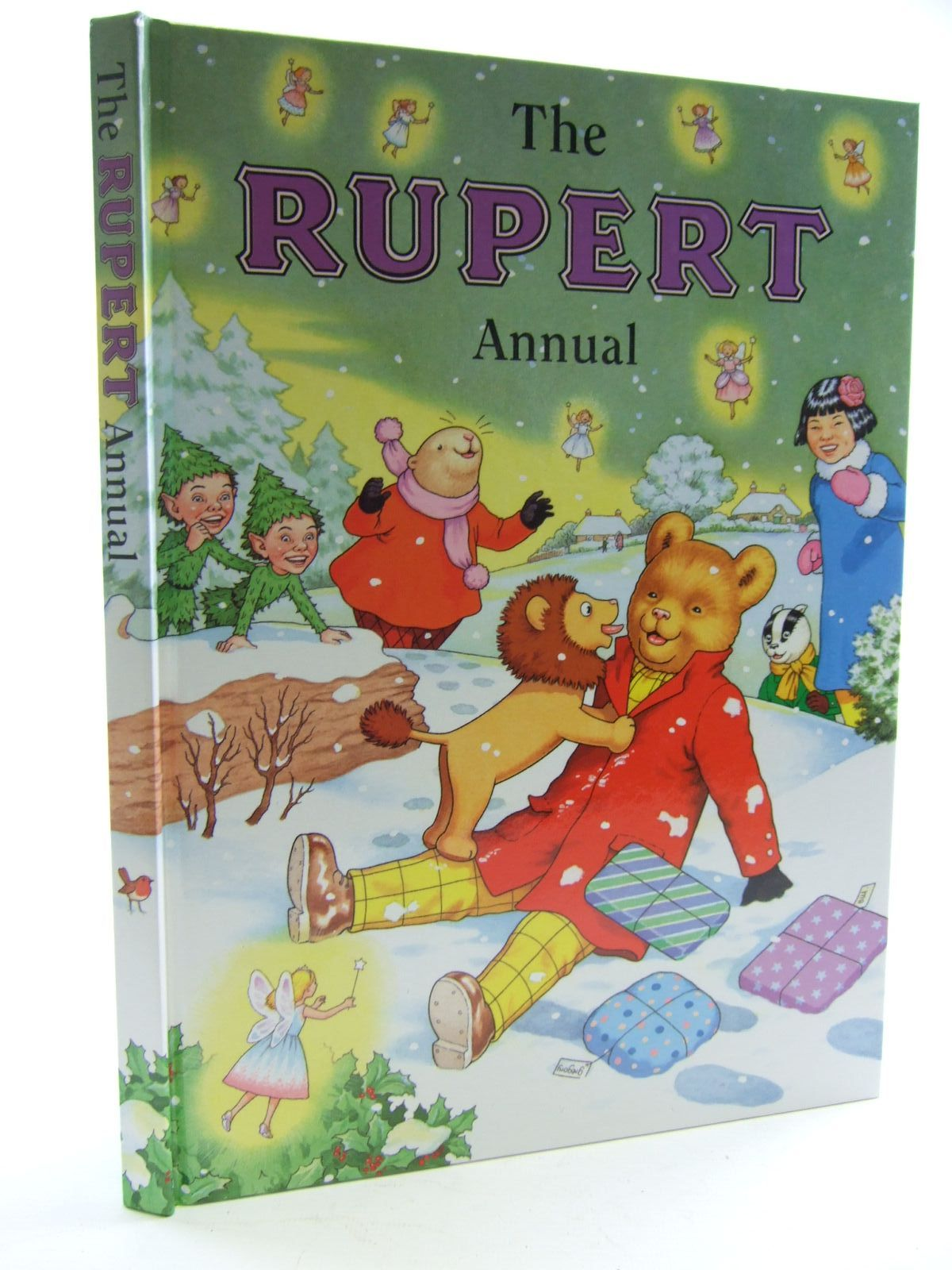Photo of RUPERT ANNUAL 2002 written by Robinson, Ian illustrated by Harrold, John published by Pedigree Books Limited (STOCK CODE: 1706208)  for sale by Stella & Rose's Books