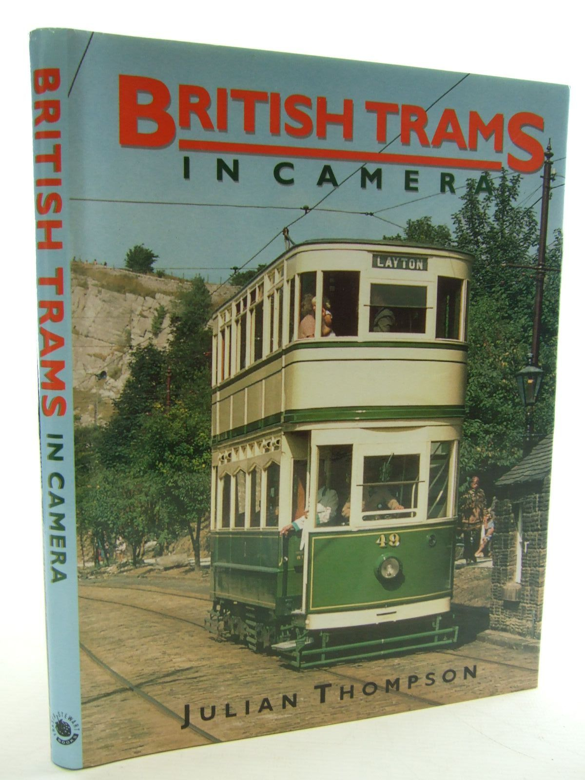 Photo of BRITISH TRAMS IN CAMERA written by Thompson, Julian published by Fraser Stewart (STOCK CODE: 1706246)  for sale by Stella & Rose's Books