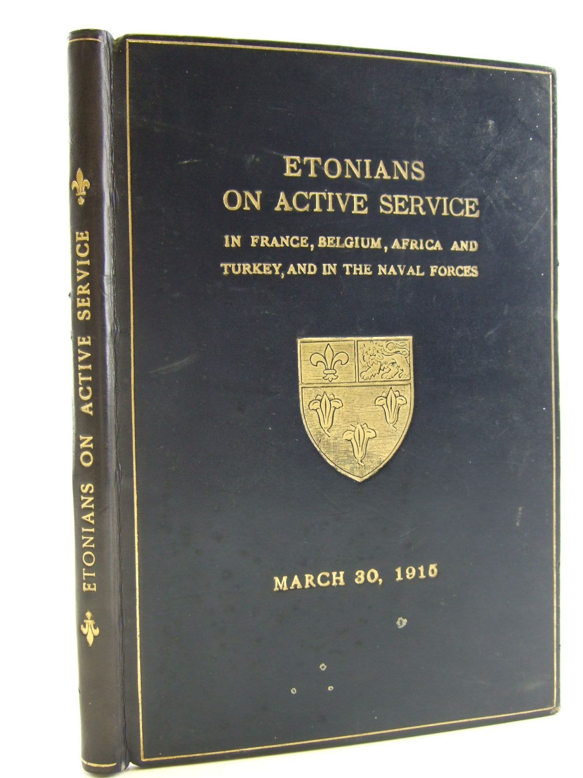 Photo of LIST OF ETONIANS ON ACTIVE SERVICE published by Eton College (STOCK CODE: 1706297)  for sale by Stella & Rose's Books