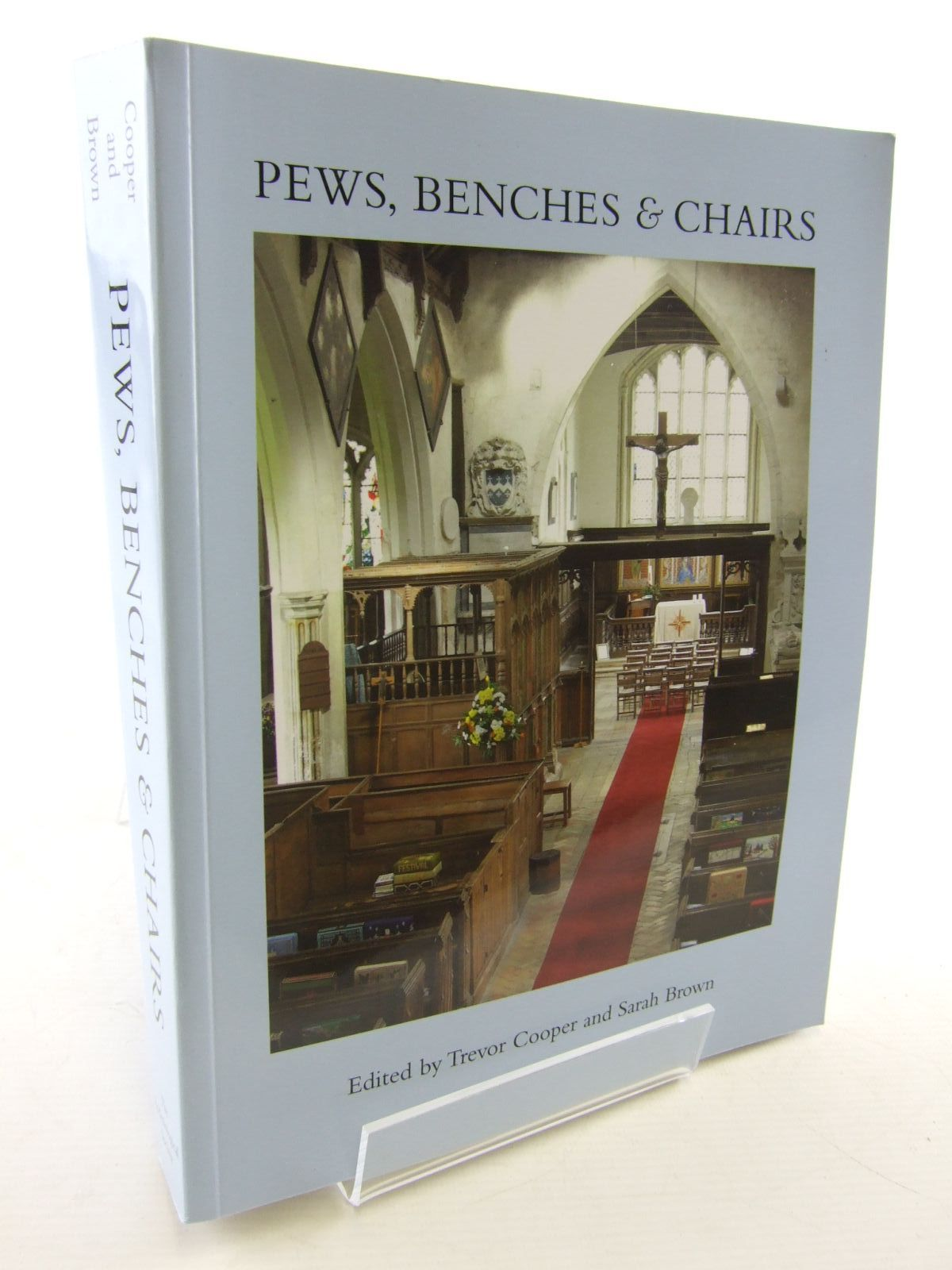 Photo of PEWS, BENCHES & CHAIRS written by Cooper, Trevor Brown, Sarah published by The Ecclesiological Society (STOCK CODE: 1706471)  for sale by Stella & Rose's Books