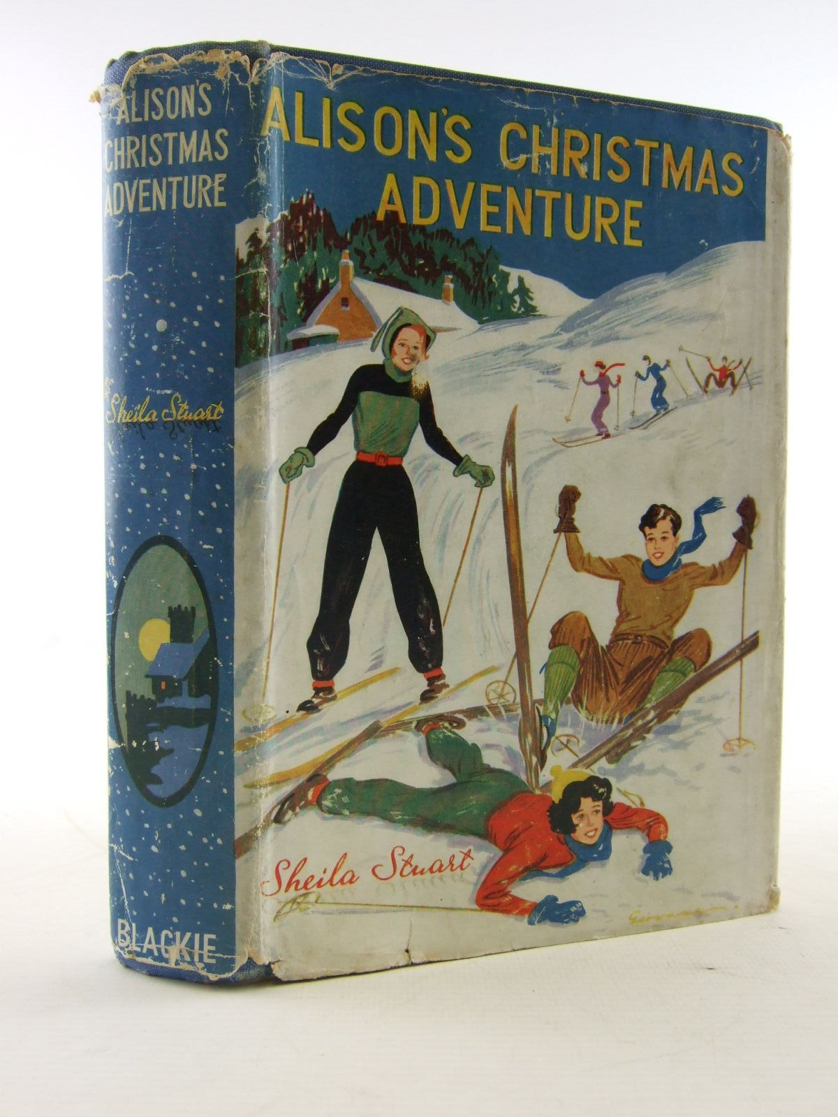 Photo of ALISON'S CHRISTMAS ADVENTURE written by Stuart, Sheila illustrated by Gervase,  published by Blackie & Son Ltd. (STOCK CODE: 1706472)  for sale by Stella & Rose's Books