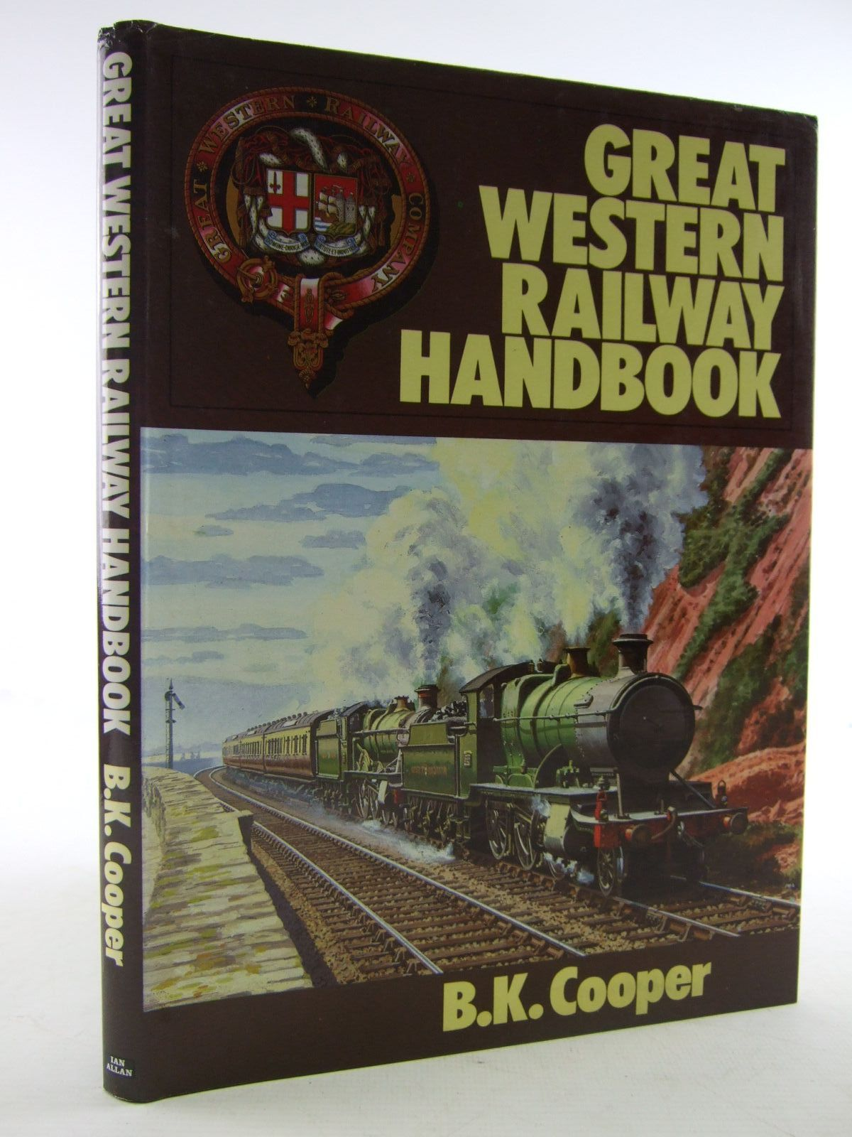 Photo of GREAT WESTERN RAILWAY HANDBOOK written by Cooper, B.K. published by Ian Allan Ltd. (STOCK CODE: 1706541)  for sale by Stella & Rose's Books