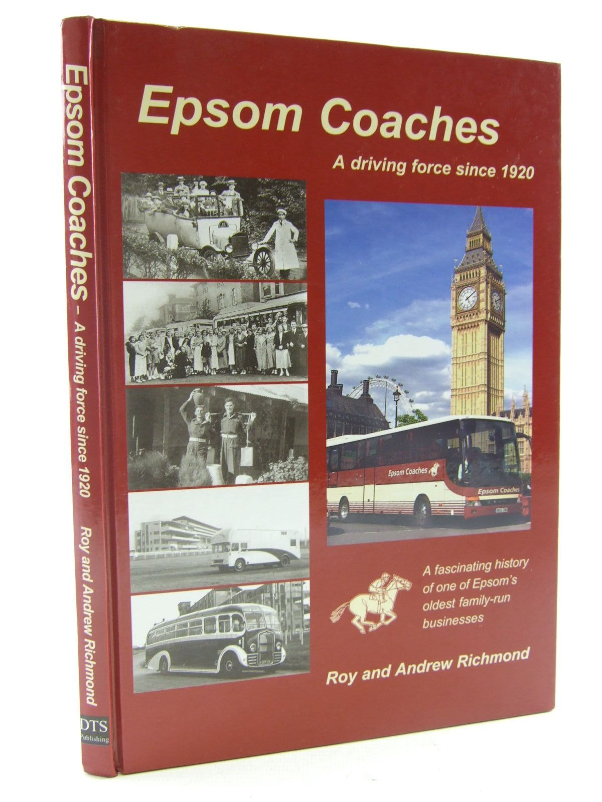 Photo of EPSOM COACHES written by Richmond, Roy<br />Richmond, Andrew published by DTS Publishing (STOCK CODE: 1706662)  for sale by Stella & Rose's Books