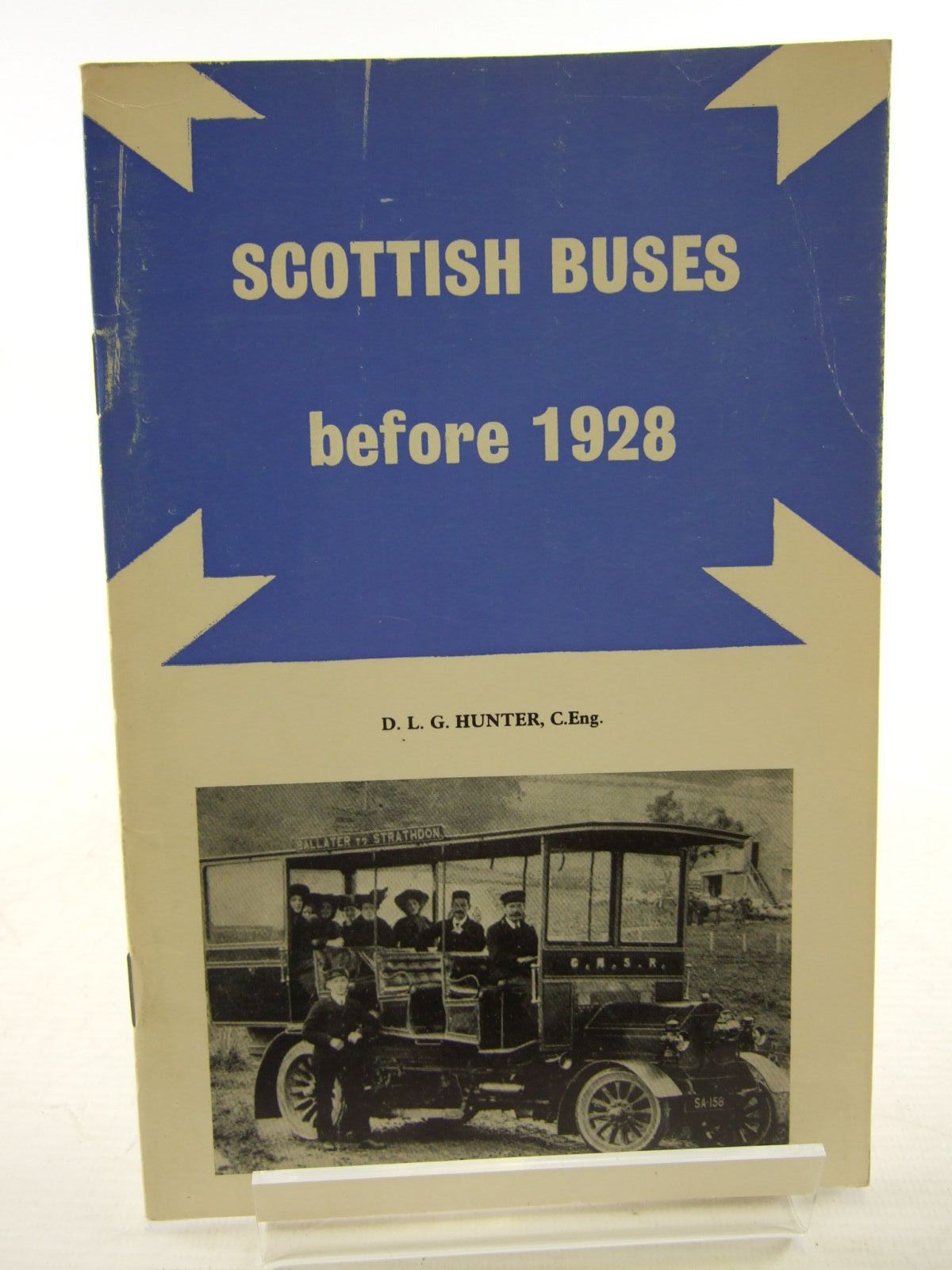 Photo of SCOTTISH BUSES BEFORE 1928 written by Hunter, D.L.G. published by Turntable Publications (STOCK CODE: 1706699)  for sale by Stella & Rose's Books