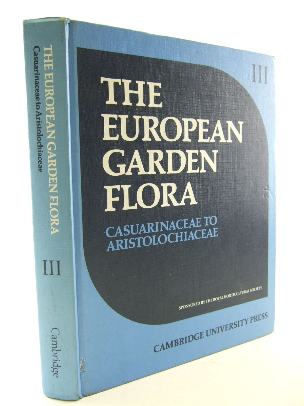 Photo of THE EUROPEAN GARDEN FLORA VOLUME III DICOTYLEDONS (PART I) written by Walters, S.M. et al,  published by Cambridge University Press (STOCK CODE: 1706795)  for sale by Stella & Rose's Books