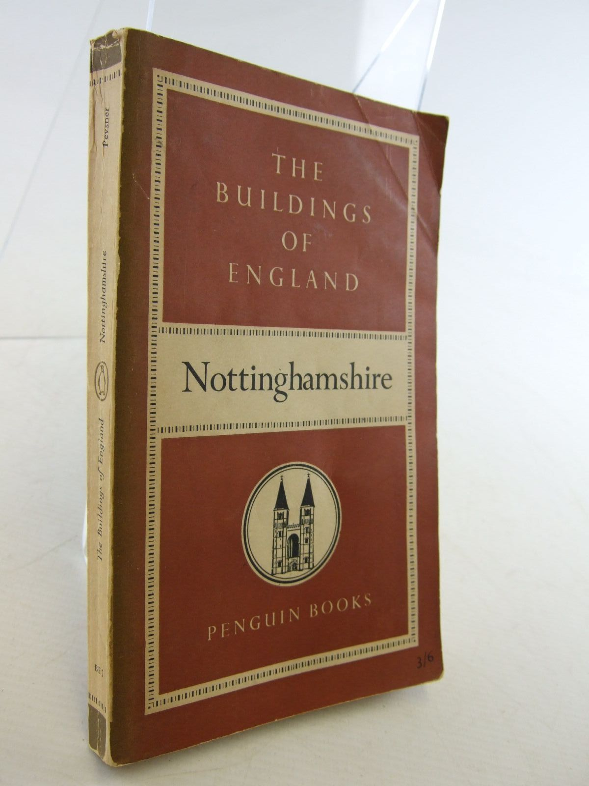 Photo of NOTTINGHAMSHIRE (BUILDINGS OF ENGLAND) written by Pevsner, Nikolaus published by Penguin (STOCK CODE: 1706848)  for sale by Stella & Rose's Books