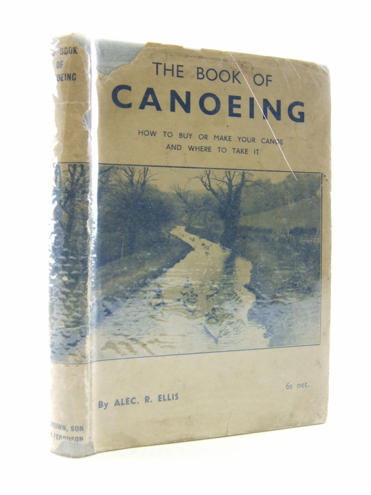 Photo of THE BOOK OF CANOEING- Stock Number: 1707062