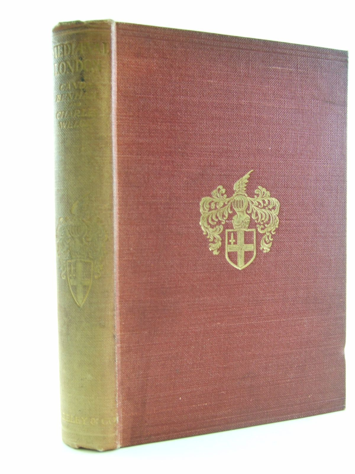Photo of MEDIAEVAL LONDON written by Benham, William