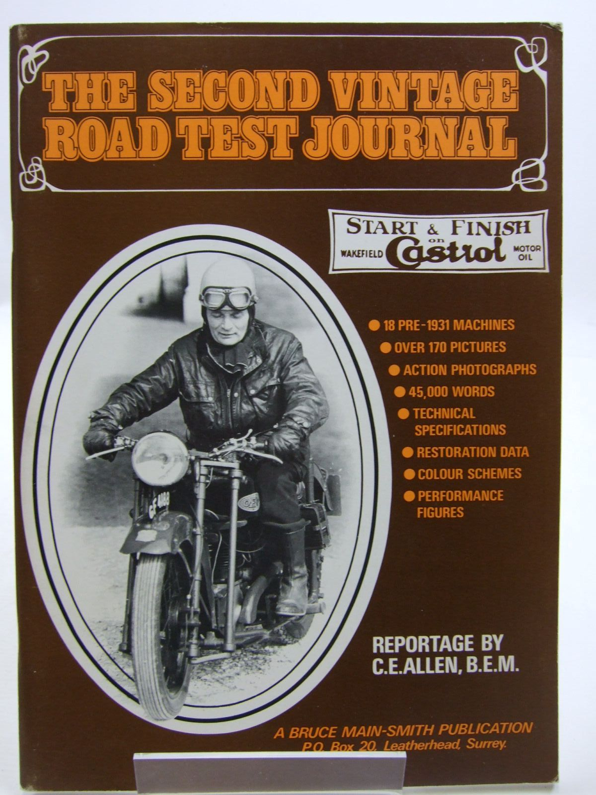Photo of THE SECOND VINTAGE ROAD TEST JOURNAL- Stock Number: 1707599