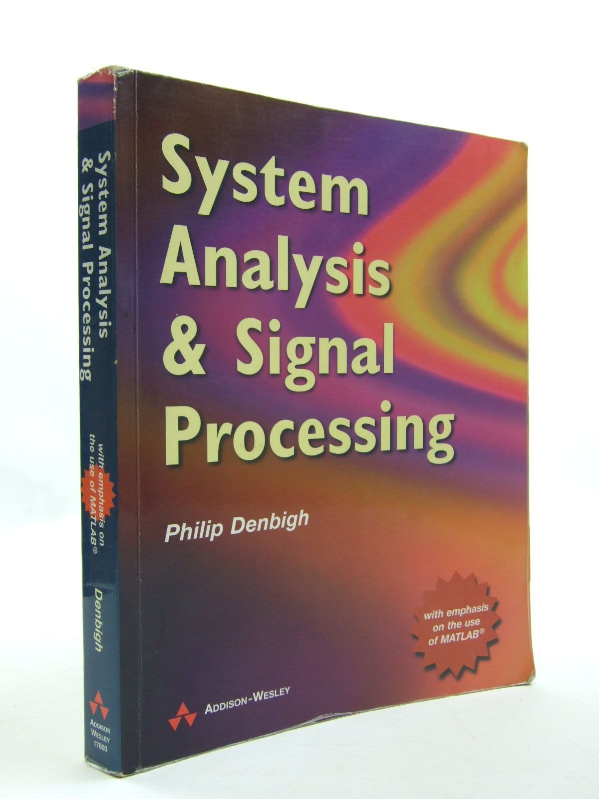 Photo of SYSTEM ANALYSIS AND SIGNAL PROCESSING- Stock Number: 1707701