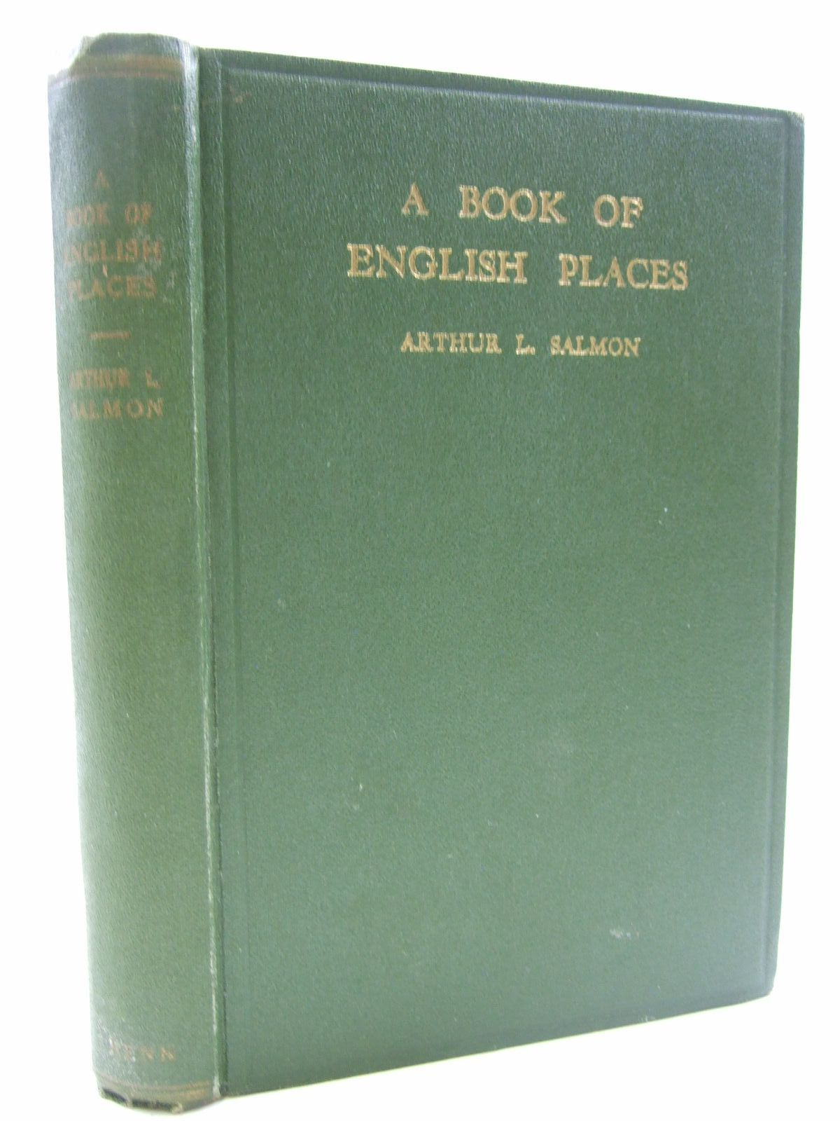 Photo of A BOOK OF ENGLISH PLACES- Stock Number: 1707851