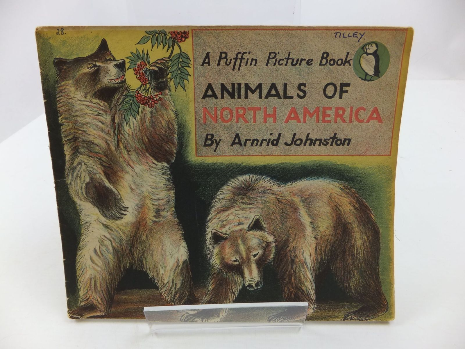 Photo of ANIMALS OF NORTH AMERICA written by Johnston, Arnrid illustrated by Johnston, Arnrid published by Penguin (STOCK CODE: 1708044)  for sale by Stella & Rose's Books