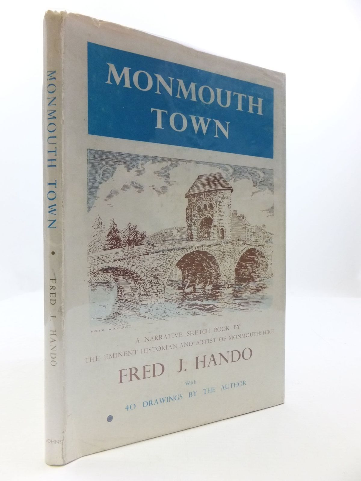 Photo of MONMOUTH TOWN SKETCH BOOK- Stock Number: 1708108