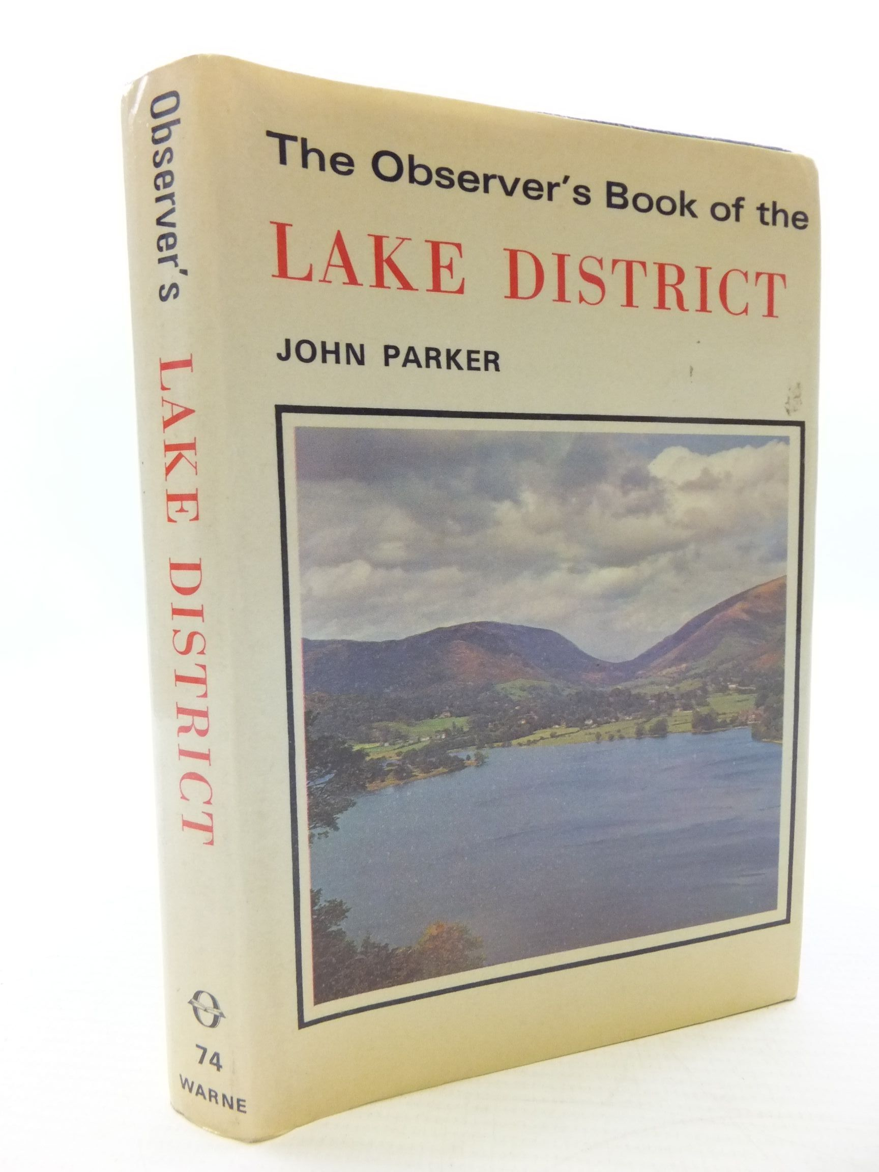 Photo of THE OBSERVER'S BOOK OF THE LAKE DISTRICT written by Parker, John published by Frederick Warne & Co Ltd. (STOCK CODE: 1708225)  for sale by Stella & Rose's Books
