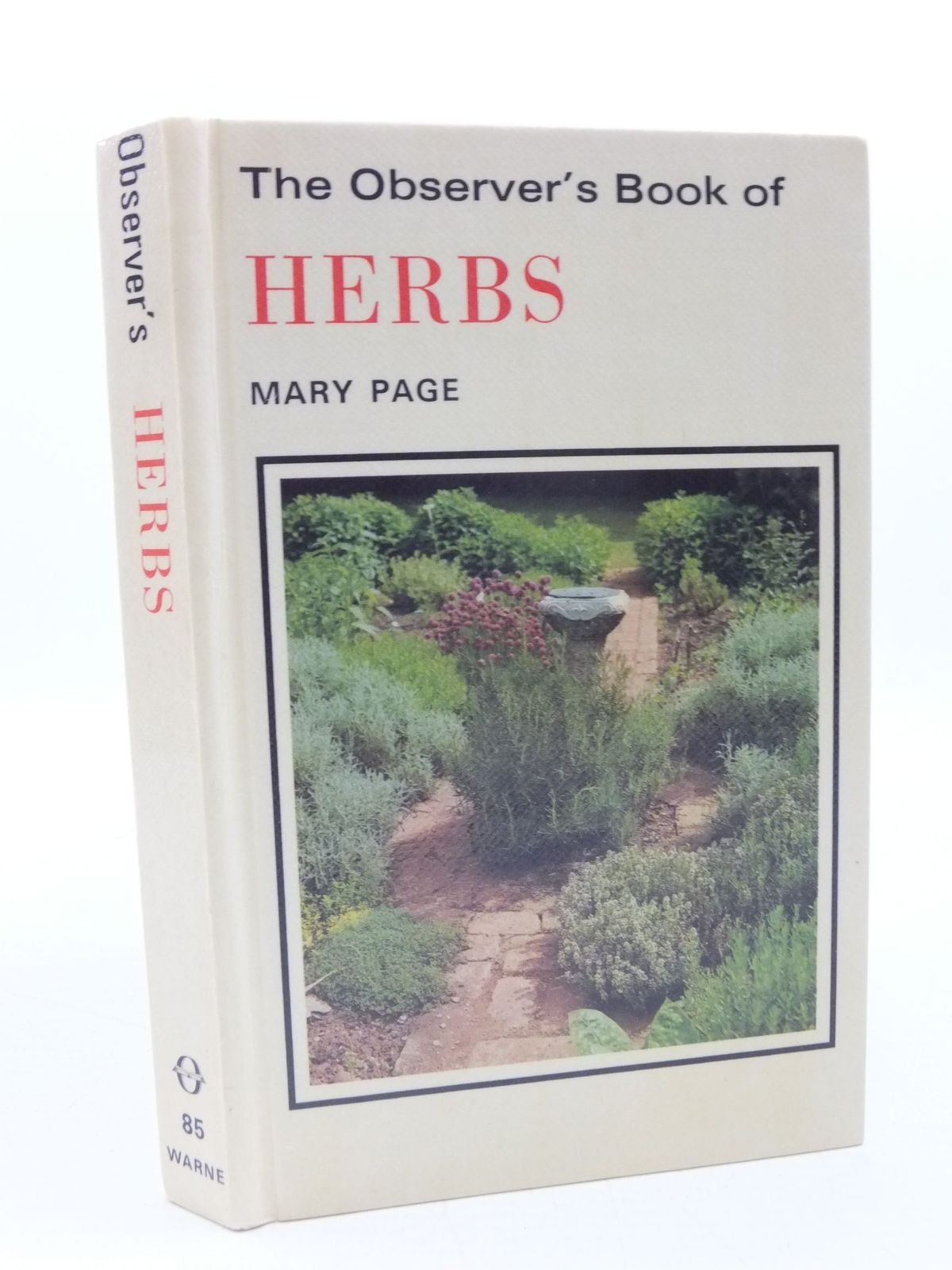 Photo of THE OBSERVER'S BOOK OF HERBS written by Page, Mary illustrated by Barber, Norman published by Frederick Warne & Co Ltd. (STOCK CODE: 1708267)  for sale by Stella & Rose's Books