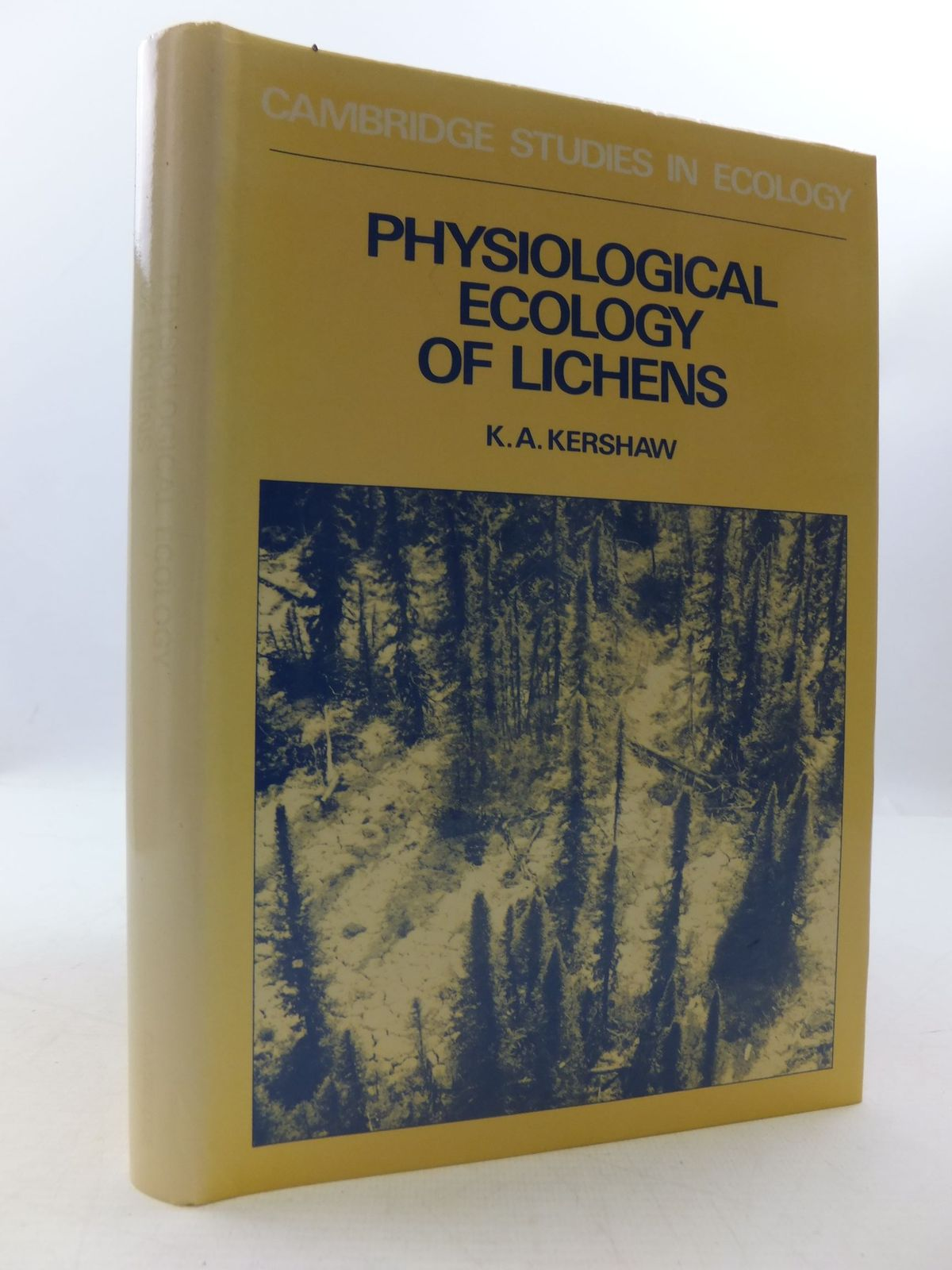 Photo of PHYSIOLOGICAL ECOLOGY OF LICHENS written by Kershaw, Kenneth A. published by Cambridge University Press (STOCK CODE: 1708645)  for sale by Stella & Rose's Books