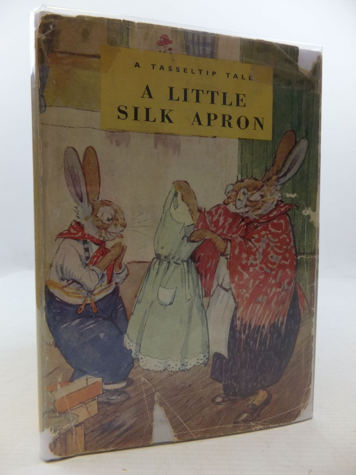 Photo of A LITTLE SILK APRON written by Richards, Dorothy illustrated by Aris, Ernest A. published by Wills & Hepworth Ltd. (STOCK CODE: 1709002)  for sale by Stella & Rose's Books