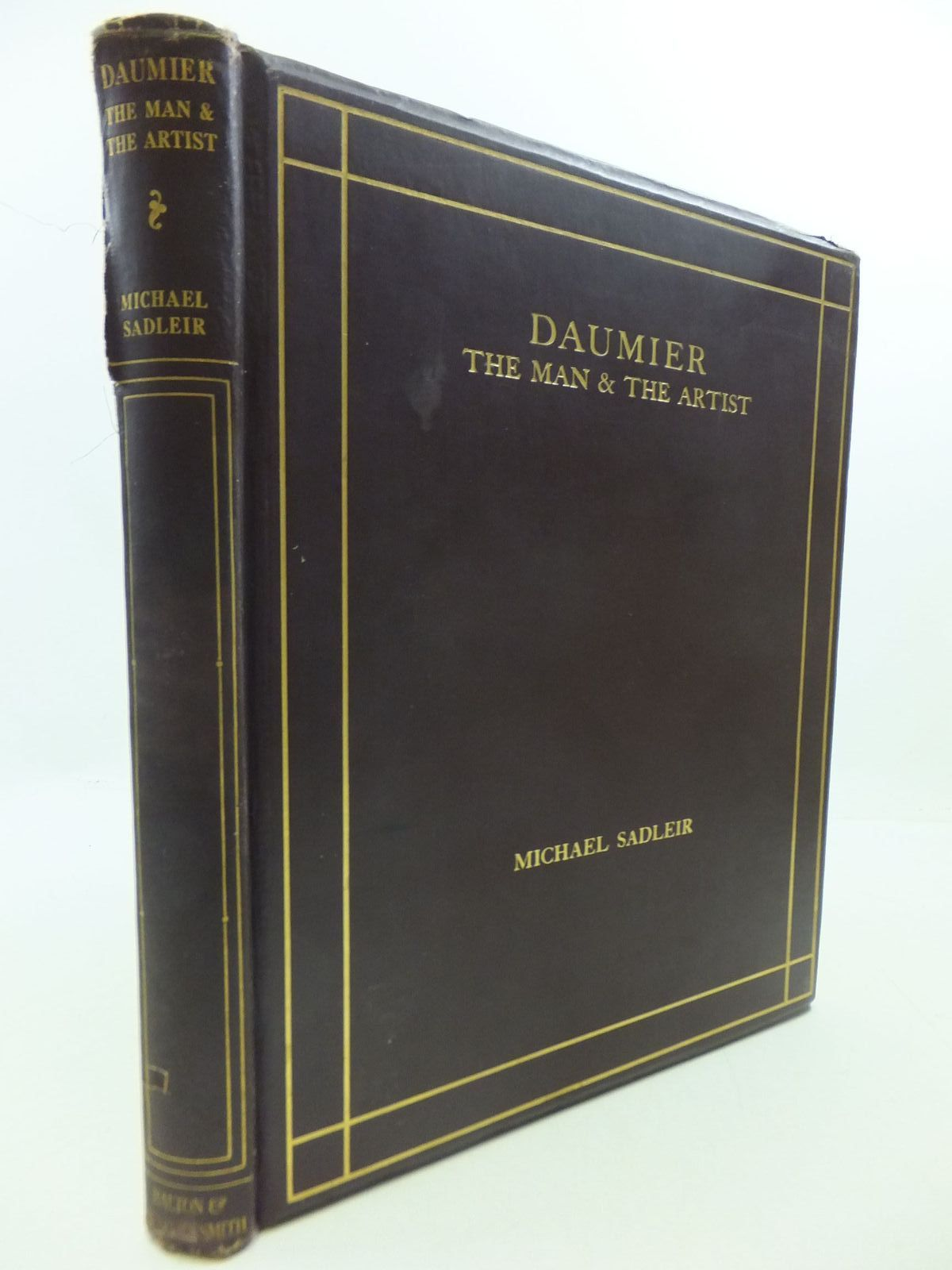 Photo of DAUMIER THE MAN AND THE ARTIST written by Sadleir, Michael illustrated by Daumier, Honore published by Halton & Truscott Smith Ltd. (STOCK CODE: 1709087)  for sale by Stella & Rose's Books