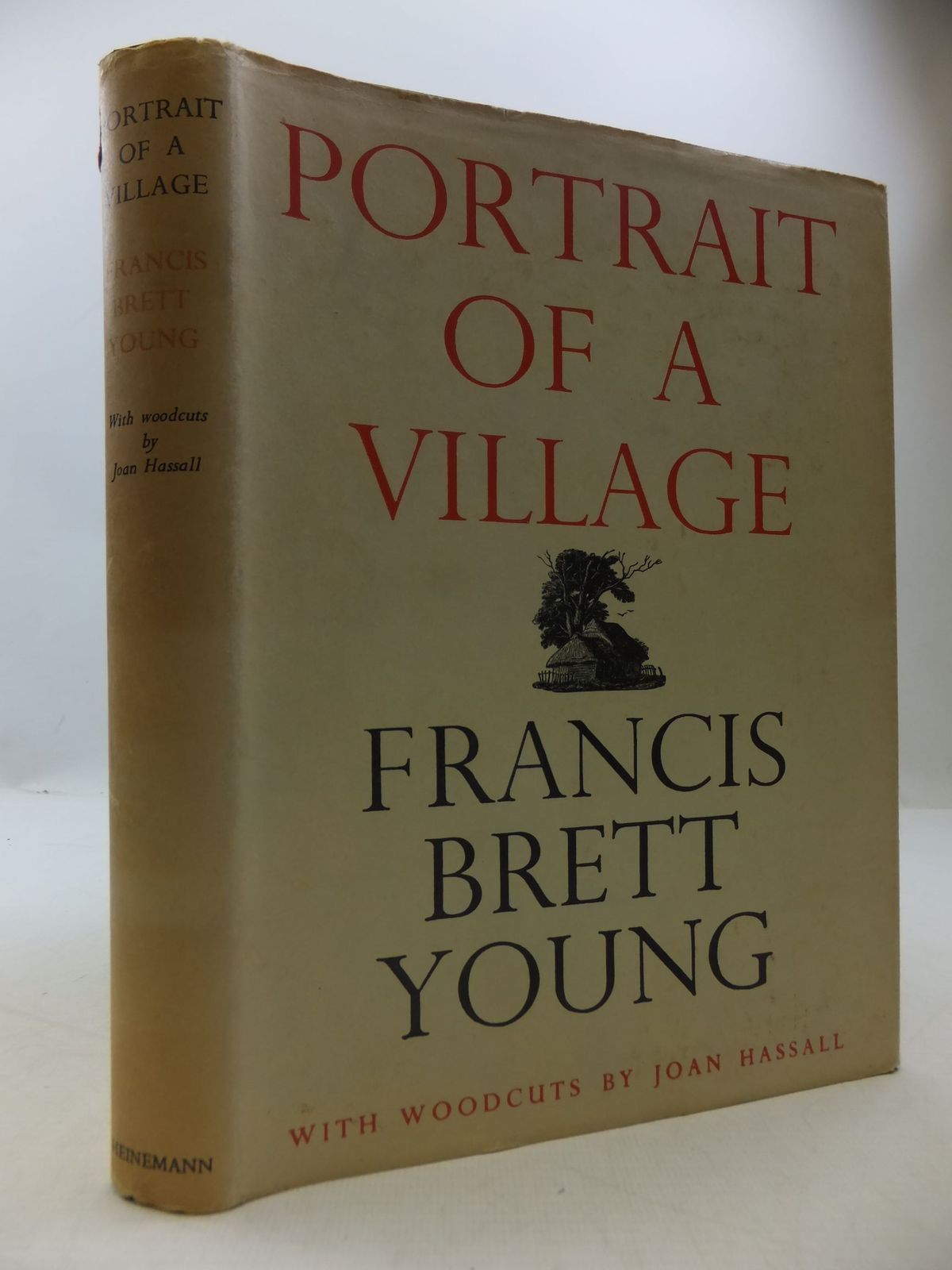 Photo of PORTRAIT OF A VILLAGE written by Young, Francis Brett illustrated by Hassall, Joan published by William Heinemann (STOCK CODE: 1709239)  for sale by Stella & Rose's Books