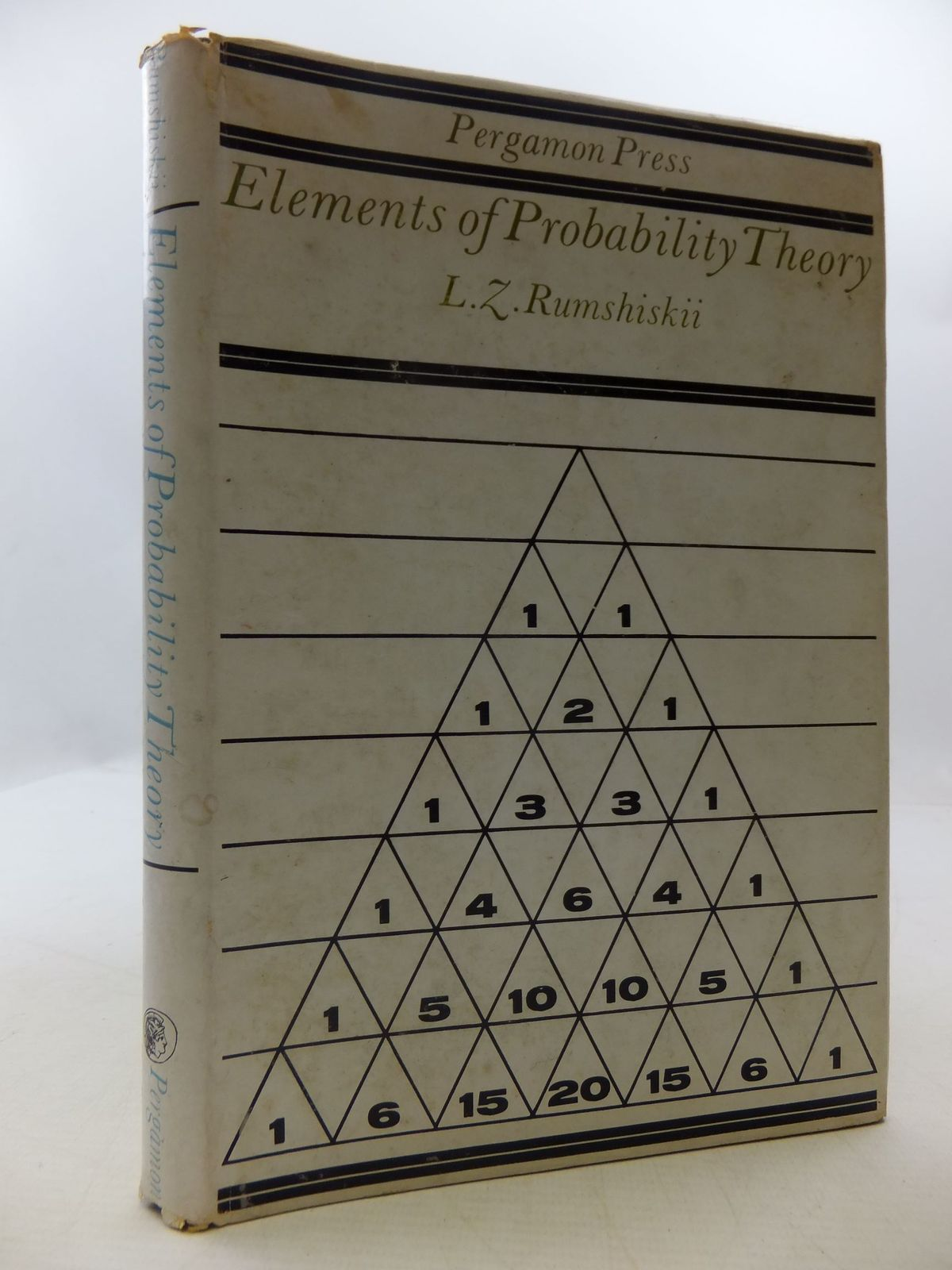 Photo of ELEMENTS OF PROBABILITY THEORY- Stock Number: 1709332