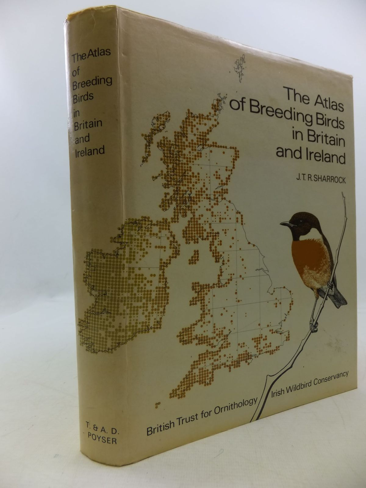 Photo of THE ATLAS OF BREEDING BIRDS IN BRITAIN AND IRELAND written by Sharrock, J.T.R. published by T. & A.D. Poyser (STOCK CODE: 1709815)  for sale by Stella & Rose's Books