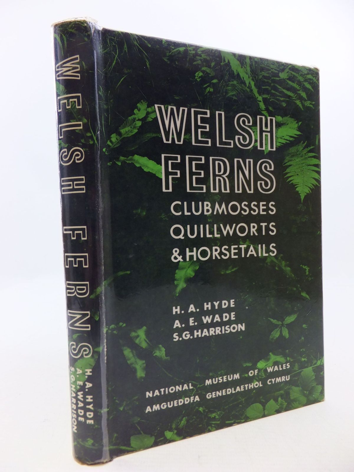 Photo of WELSH FERNS CLUBMOSSES QUILLWORTS AND HORSETAILS written by Hyde, H.A.<br />Wade, A.E.<br />Harrison, S.G. published by National Museum of Wales (STOCK CODE: 1709862)  for sale by Stella & Rose's Books