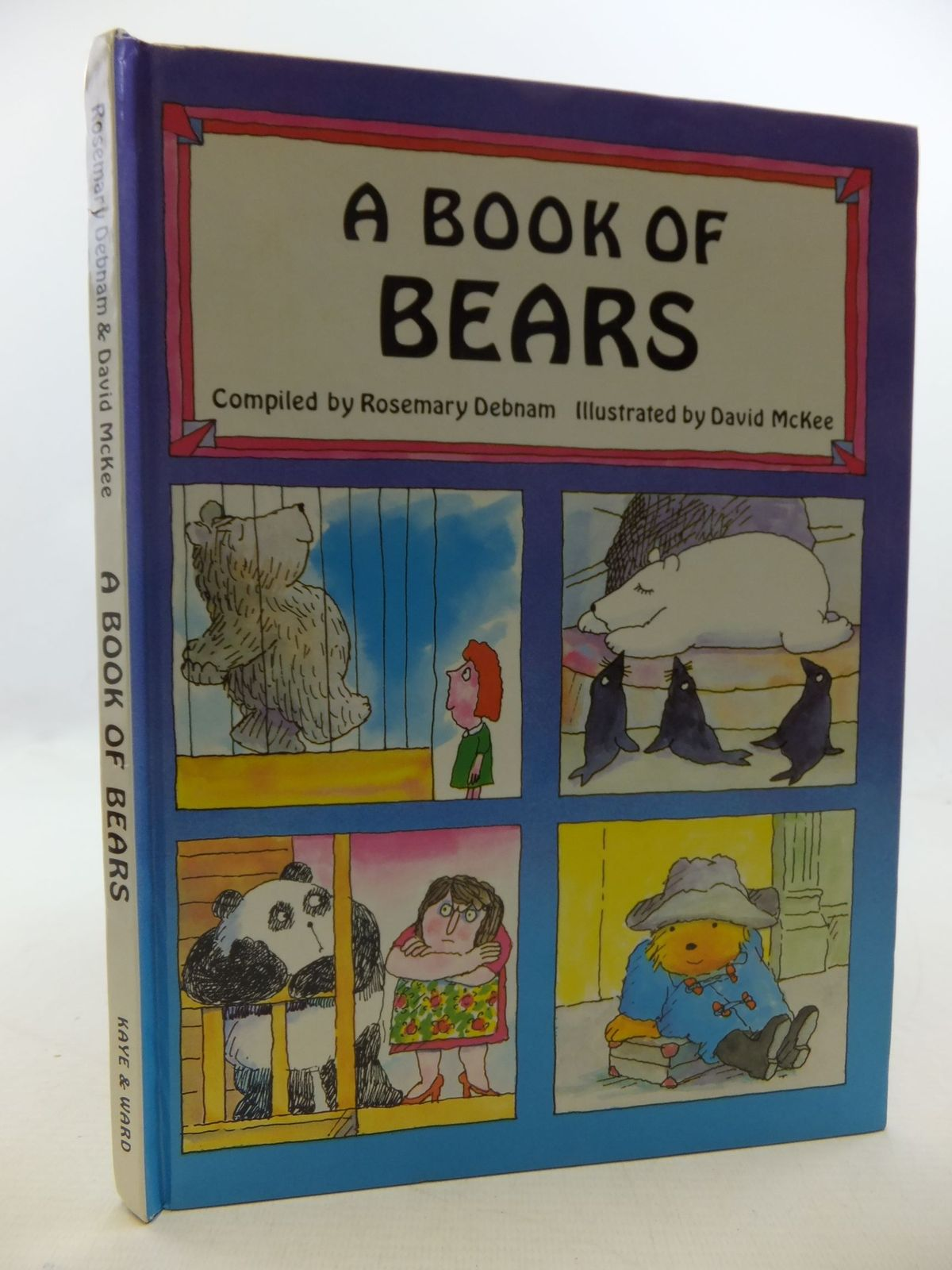 Photo of A BOOK OF BEARS written by Debnam, Rosemary illustrated by McKee, David published by Kaye & Ward Ltd. (STOCK CODE: 1710028)  for sale by Stella & Rose's Books