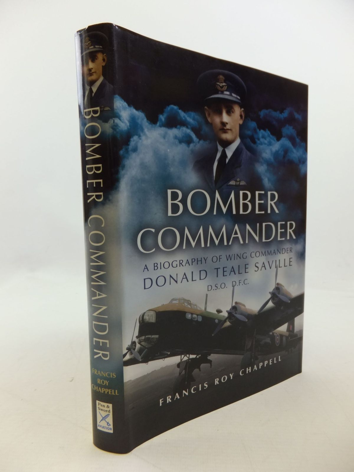 Photo of BOMBER COMMANDER A BIOGRAPHY OF WING COMMANDER DONALD TEALE SAVILLE- Stock Number: 1710103