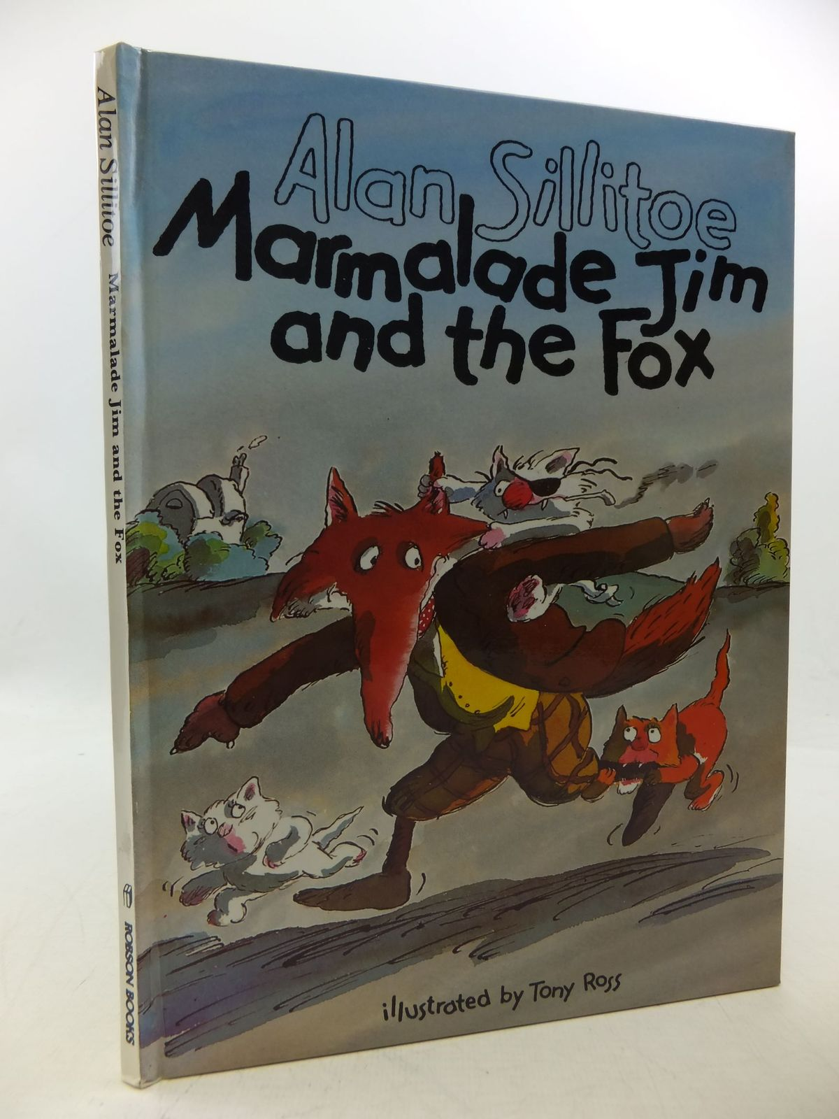 Photo of MARMALADE JIM AND THE FOX written by Sillitoe, Alan illustrated by Ross, Tony published by Robson Books (STOCK CODE: 1710120)  for sale by Stella & Rose's Books