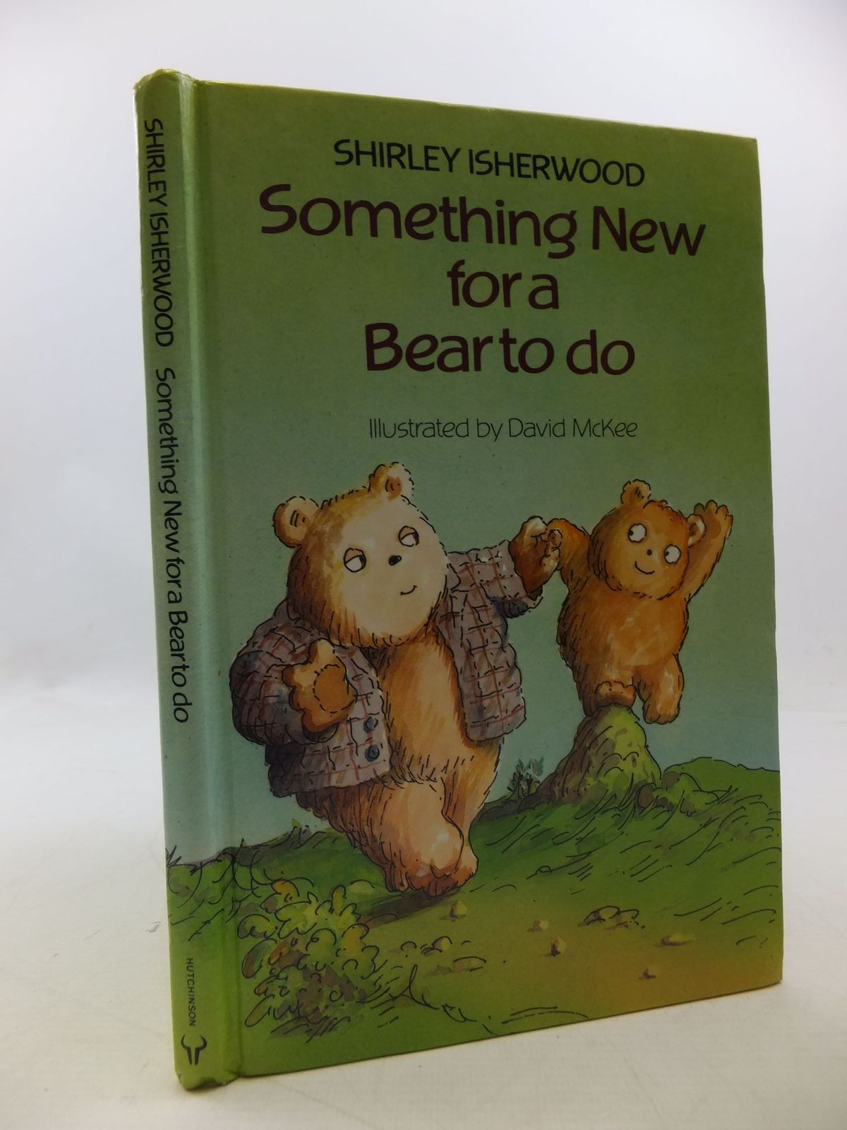 Photo of SOMETHING NEW FOR A BEAR TO DO written by Isherwood, Shirley illustrated by McKee, David published by Hutchinson (STOCK CODE: 1710241)  for sale by Stella & Rose's Books