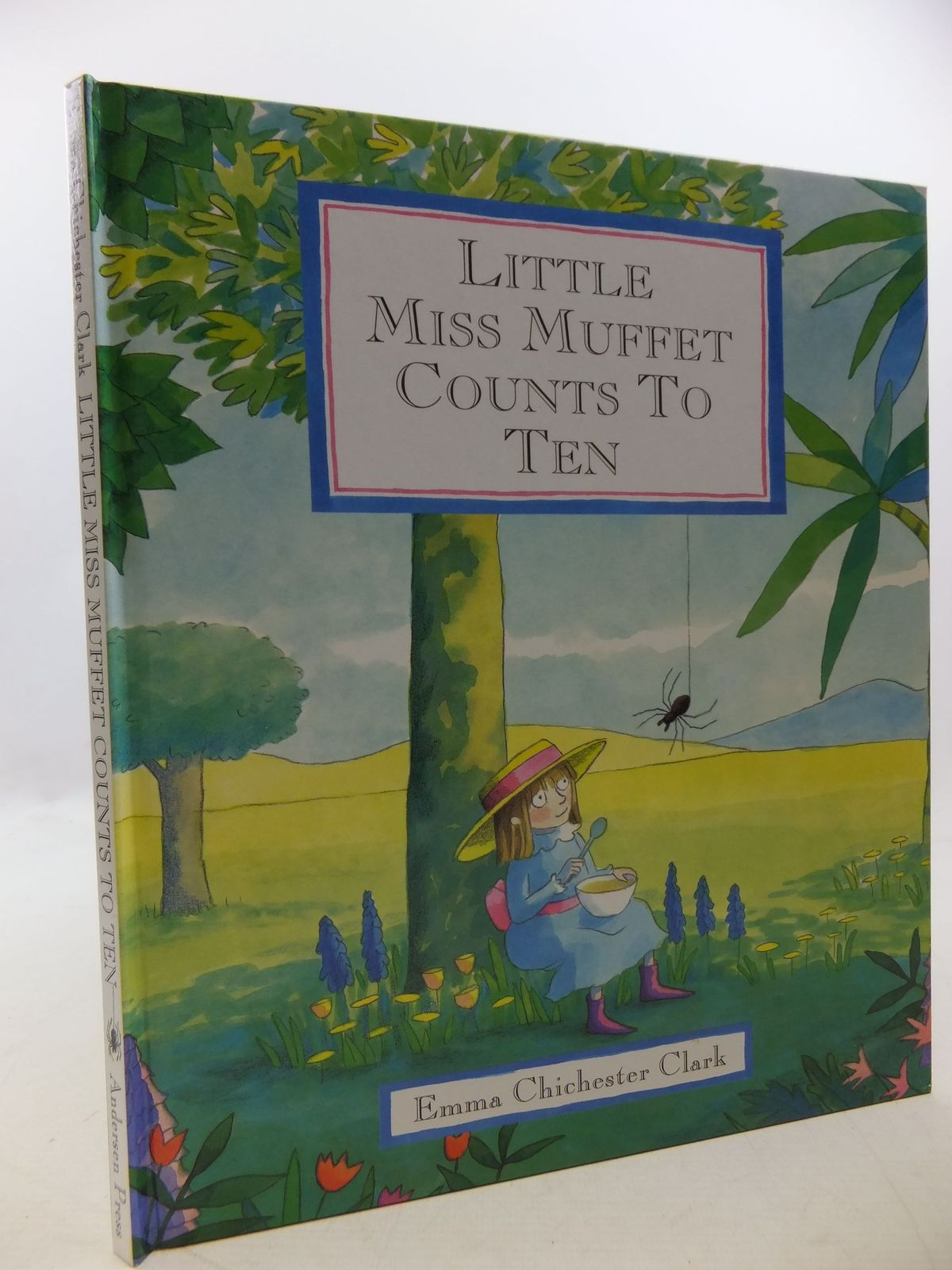 Photo of LITTLE MISS MUFFET COUNTS TO TEN written by Chichester-Clarke, Emma illustrated by Clark, Emma Chichester published by Andersen Press (STOCK CODE: 1710270)  for sale by Stella & Rose's Books