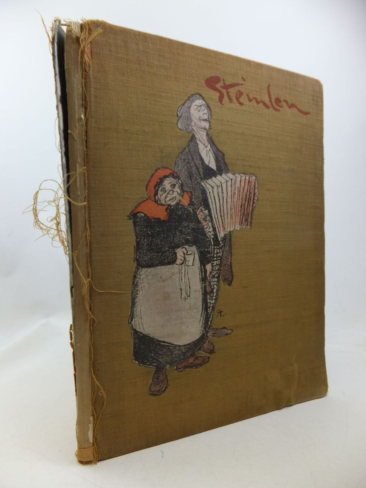 Photo of STEINLEN AND HIS ART TWENTY-FOUR CARTOONS- Stock Number: 1710303