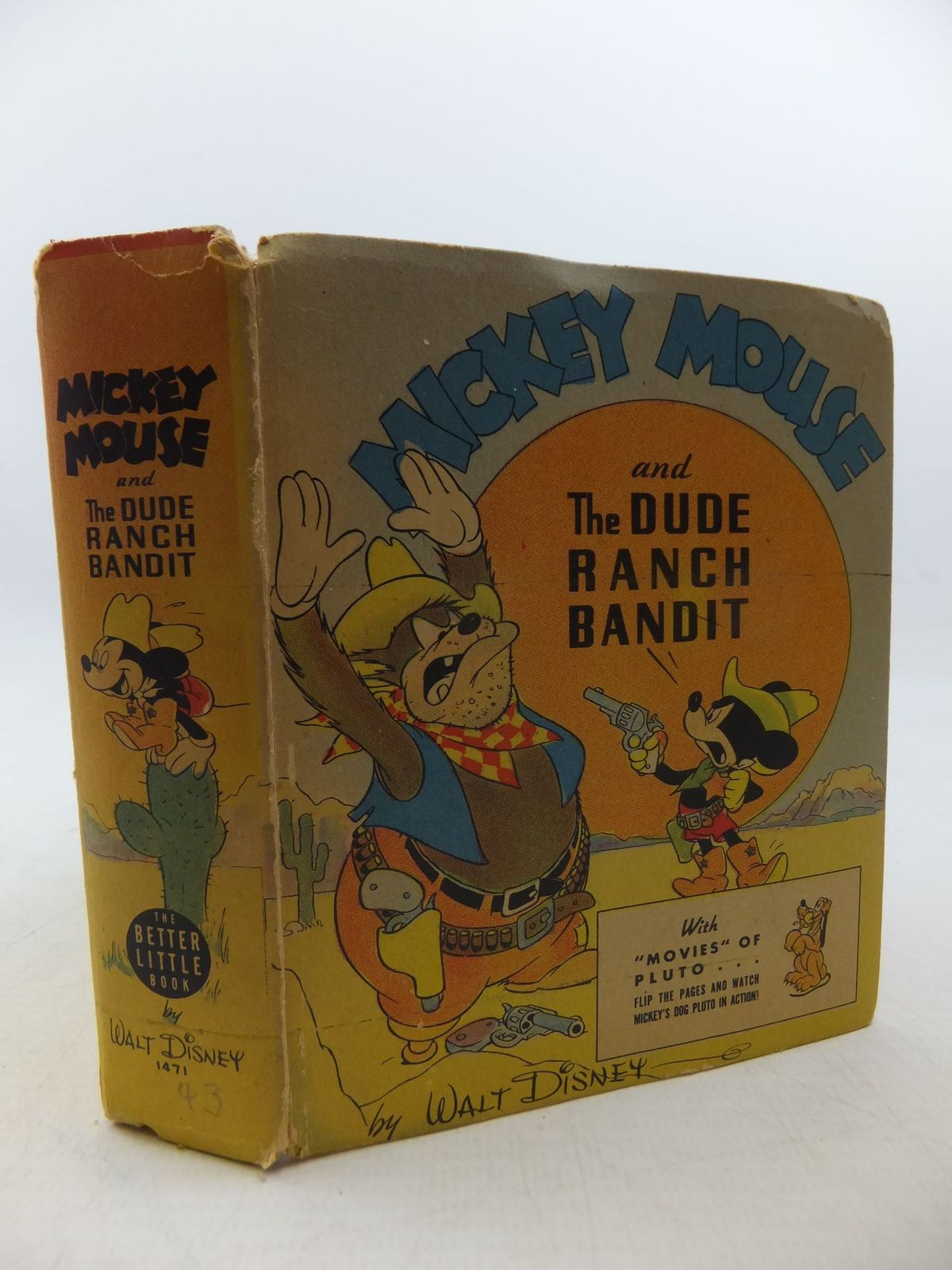 Photo of MICKEY MOUSE AND THE DUDE RANCH BANDIT- Stock Number: 1710336