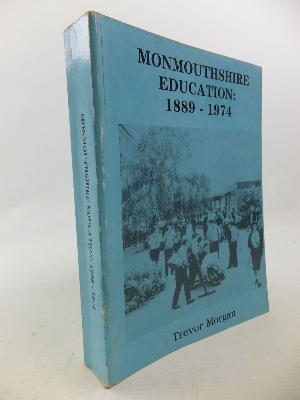 Photo of MONMOUTHSHIRE EDUCATION: 1889 - 1974 written by Morgan, Trevor published by Cwmbran Community Press Ltd. (STOCK CODE: 1710665)  for sale by Stella & Rose's Books