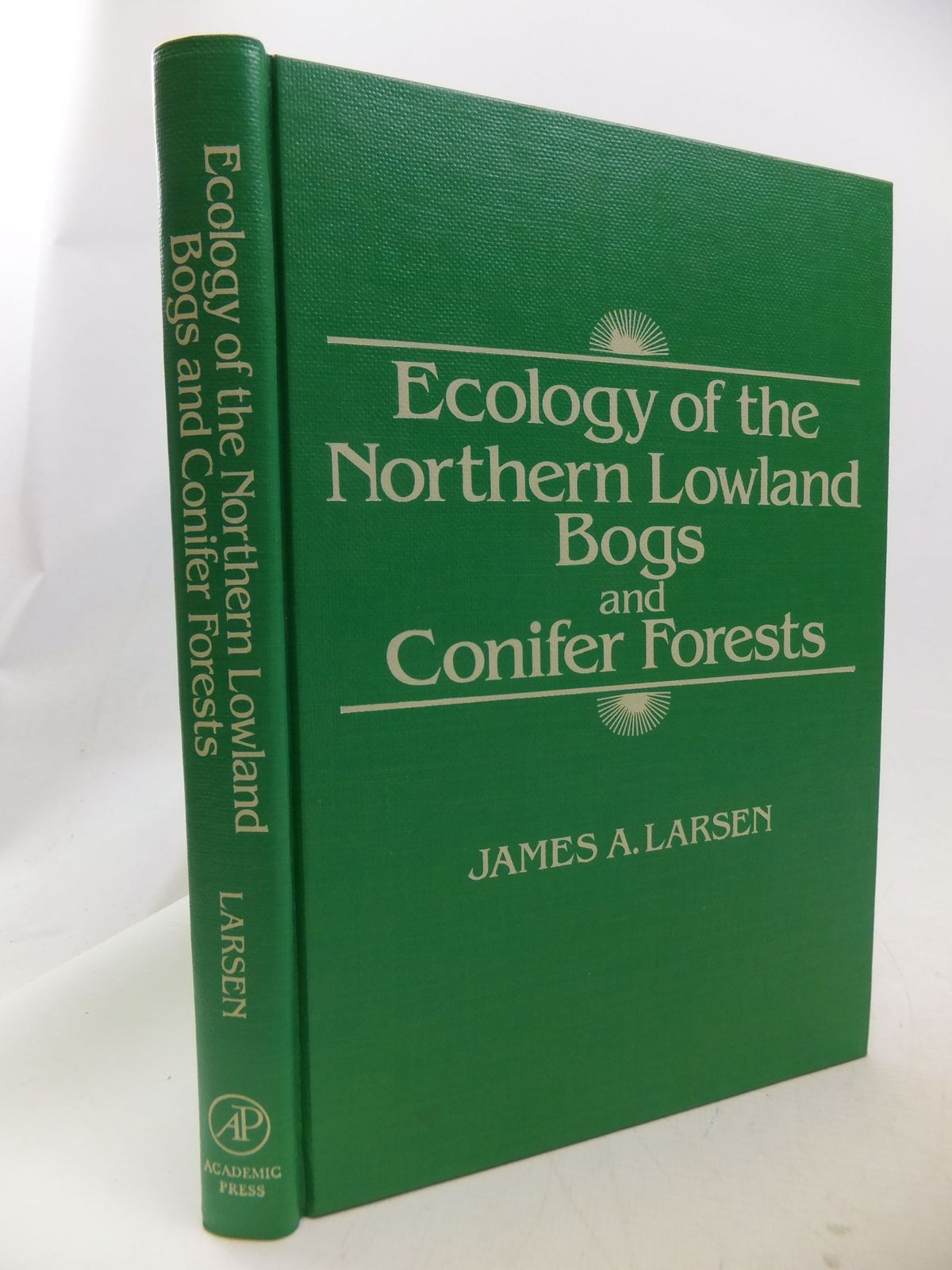 Photo of ECOLOGY OF THE NORTHERN LOWLAND BOGS AND CONIFER FORESTS- Stock Number: 1710823