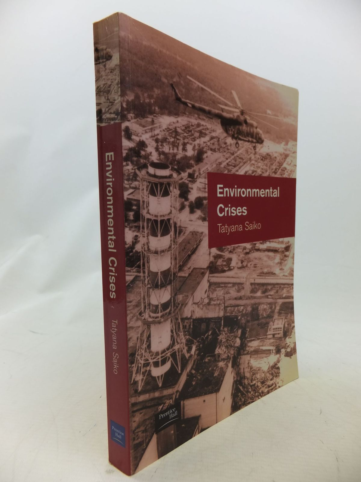 Photo of ENVIRONMENTAL CRISES: GEOGRAPHICAL CASE STUDIES POST-SOCIALIST EURASIA written by Saiko, Tatyana published by Prentice-Hall (STOCK CODE: 1710829)  for sale by Stella & Rose's Books
