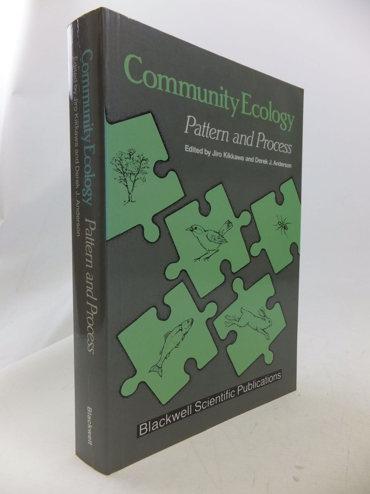 Photo of COMMUNITY ECOLOGY PATTERN AND PROCESS written by Kikkawa, Jiro Anderson, Derek J. published by Blackwell Scientific Publications (STOCK CODE: 1710836)  for sale by Stella & Rose's Books