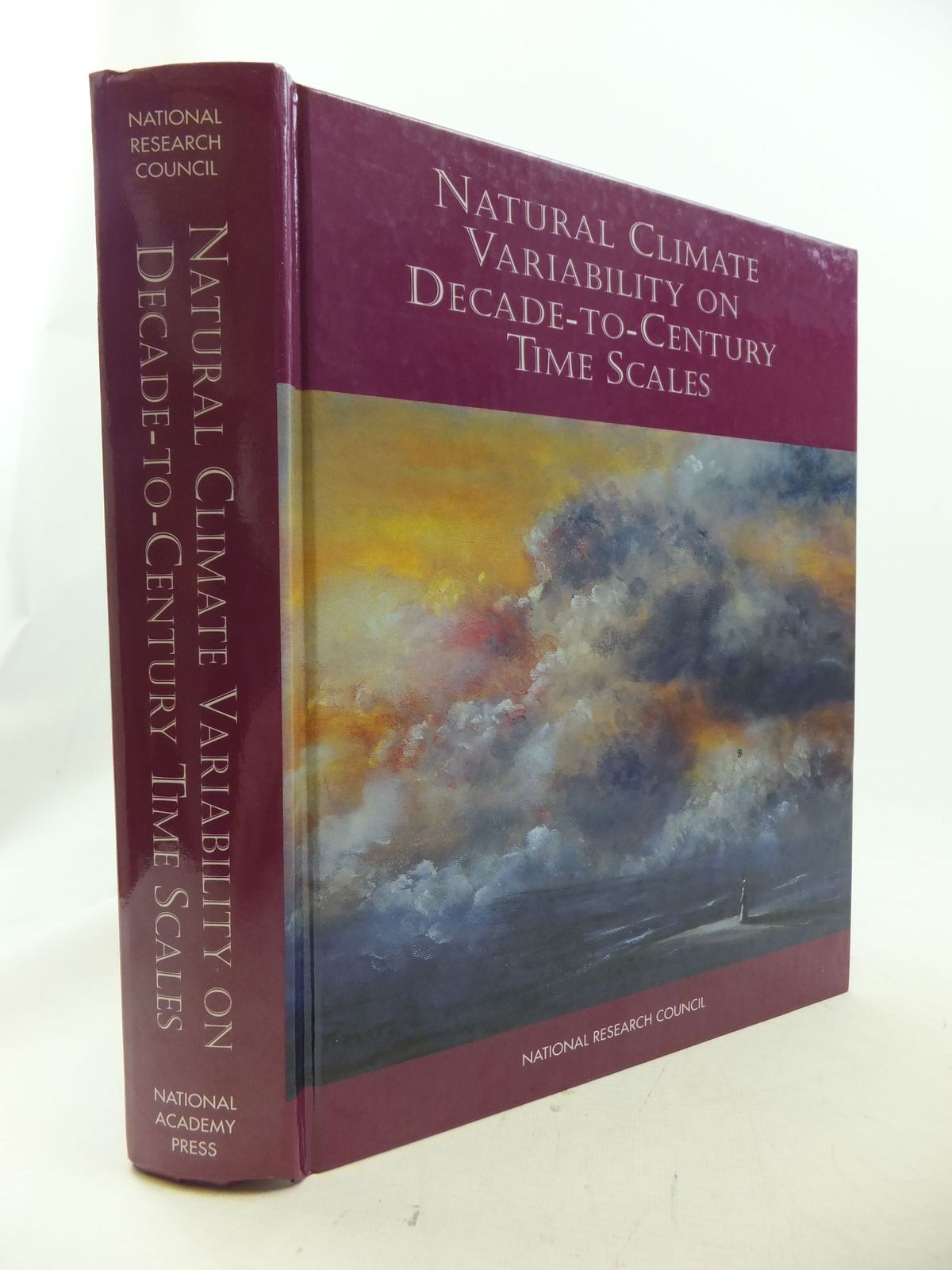 Photo of NATURAL CLIMATE VARIABILITY ON DECADES-TO-CENTURY TIME SCALES written by Martinson, Douglas G.