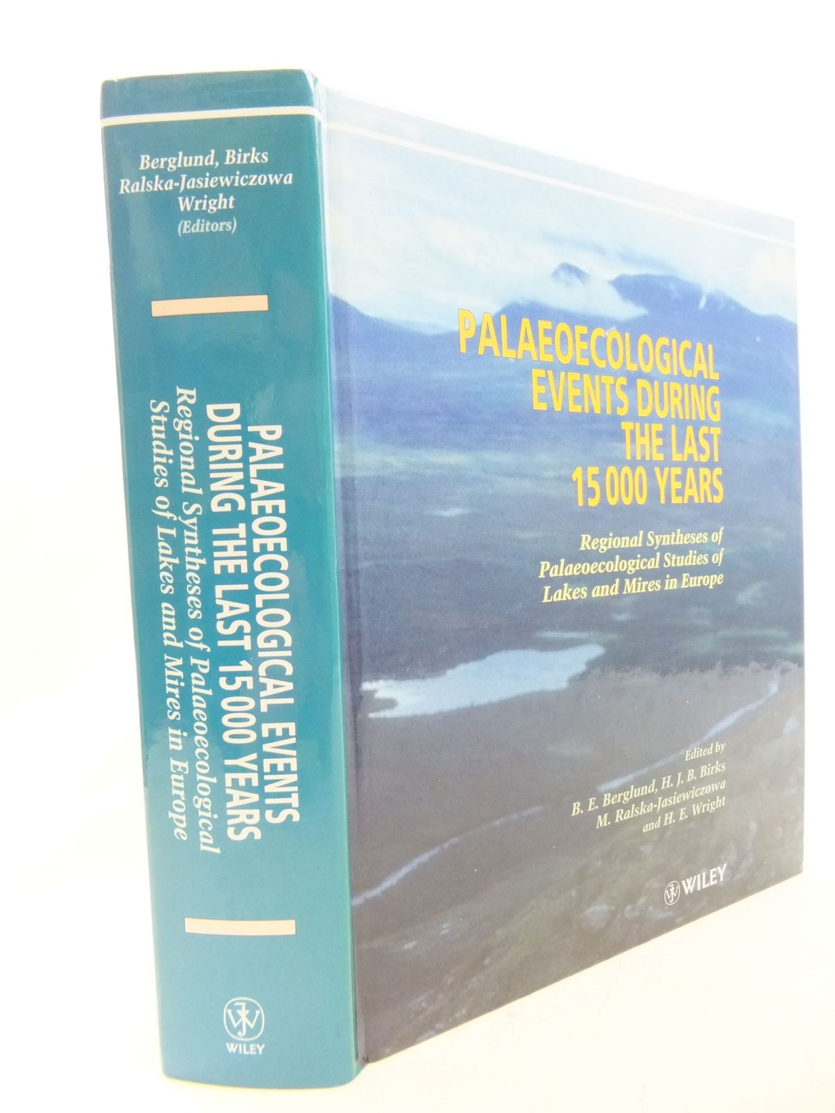 Photo of PALAEOECOLOGICAL EVENTS DUING THE LAST 15000 YEARS- Stock Number: 1710900