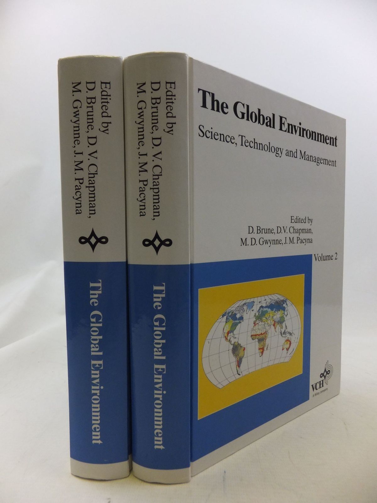 Photo of THE GLOBAL ENVIRONMENT SCIENCE, TECHNOLOGY AND MANAGEMENT (2 VOLUMES) written by Brune, D. Chapman, D.V. et al, published by Scandinavian Science Publisher (STOCK CODE: 1710905)  for sale by Stella & Rose's Books