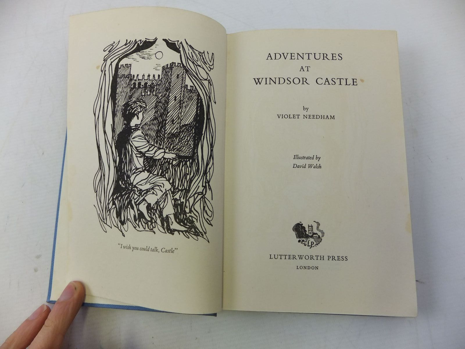 Photo of ADVENTURES AT WINDSOR CASTLE written by Needham, Violet illustrated by Walsh, David published by Lutterworth Press (STOCK CODE: 1710990)  for sale by Stella & Rose's Books